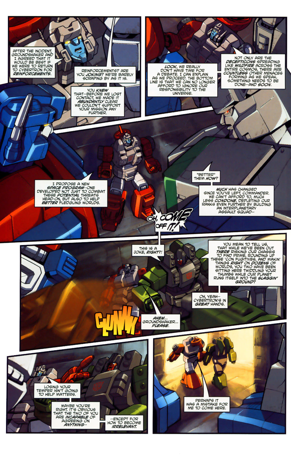 Read online Transformers: Micromasters comic -  Issue #1 - 12