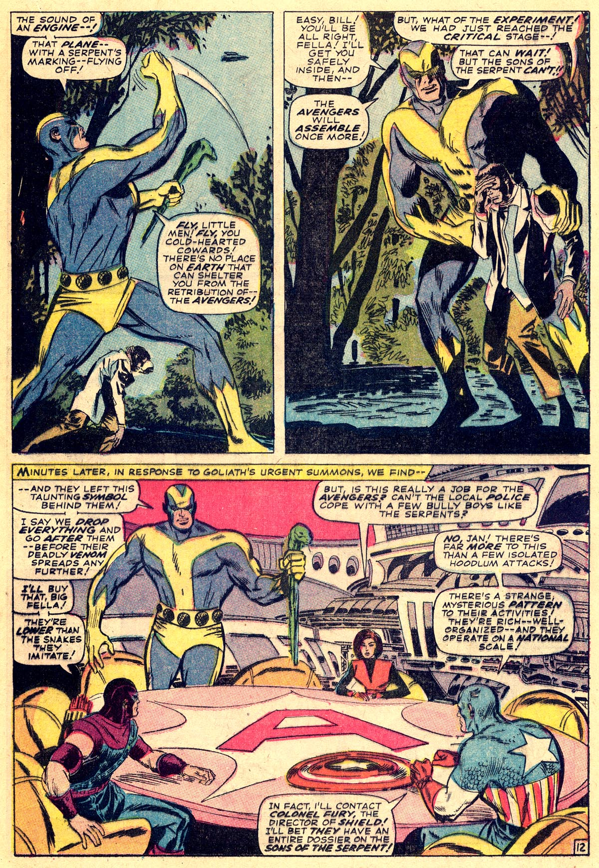 The Avengers (1963) 32 Page 12