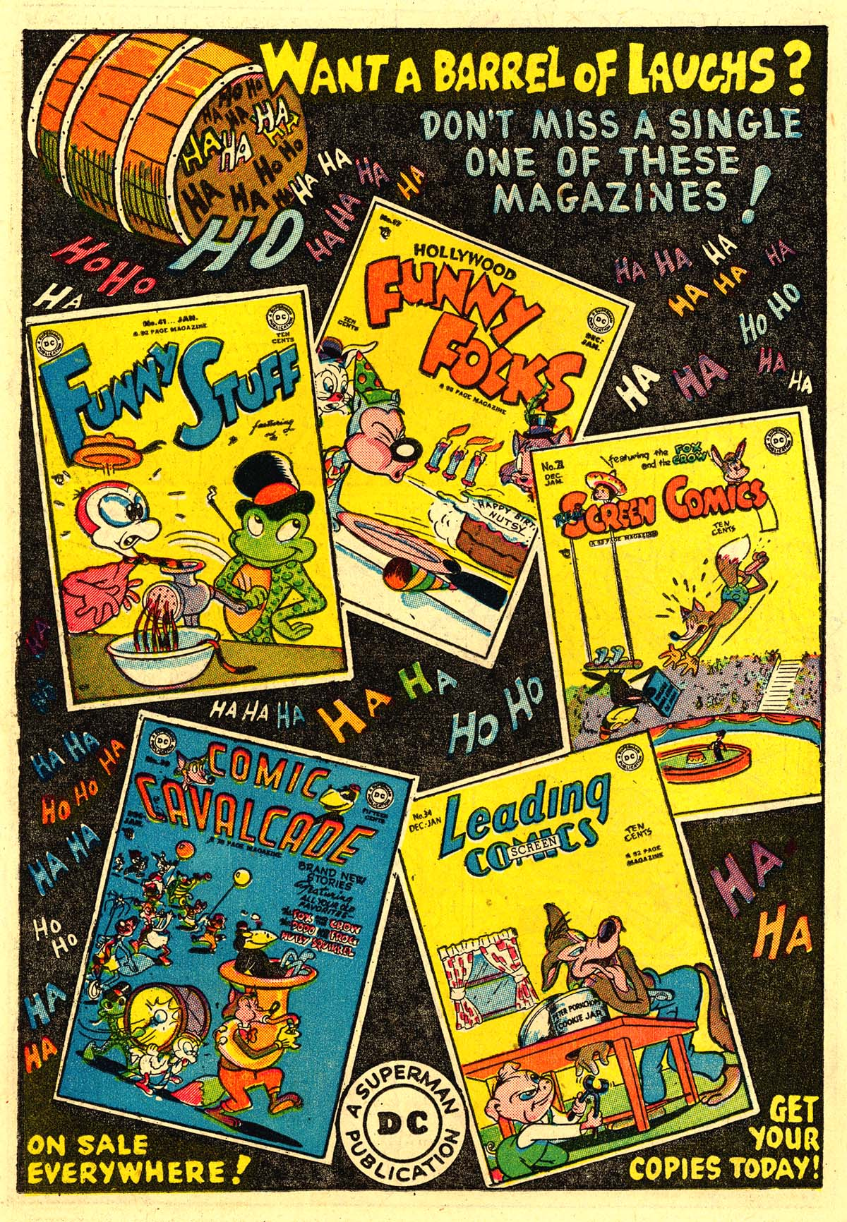 Read online Animal Antics comic -  Issue #18 - 18