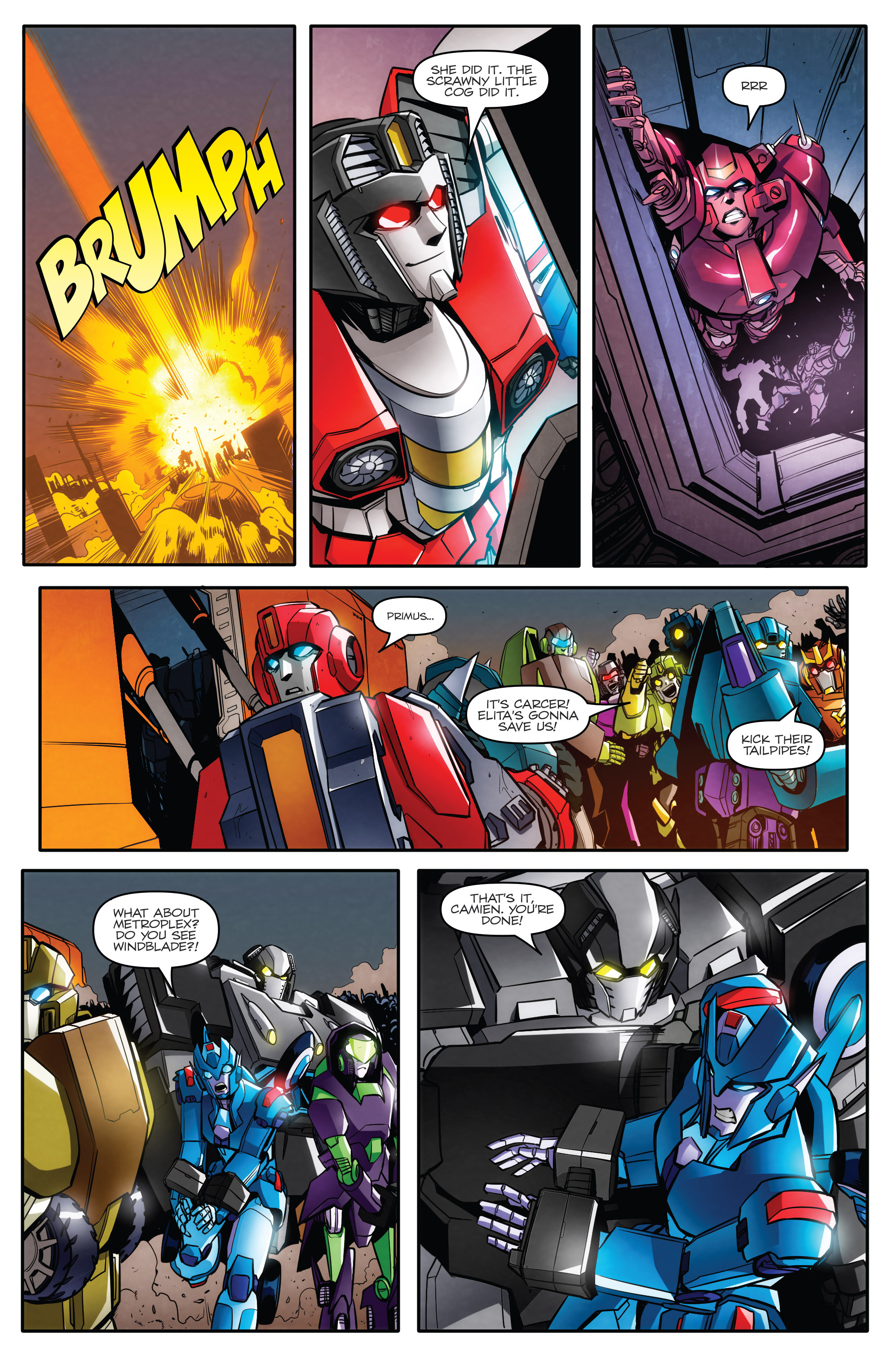 Read online Transformers: Till All Are One comic -  Issue #8 - 8