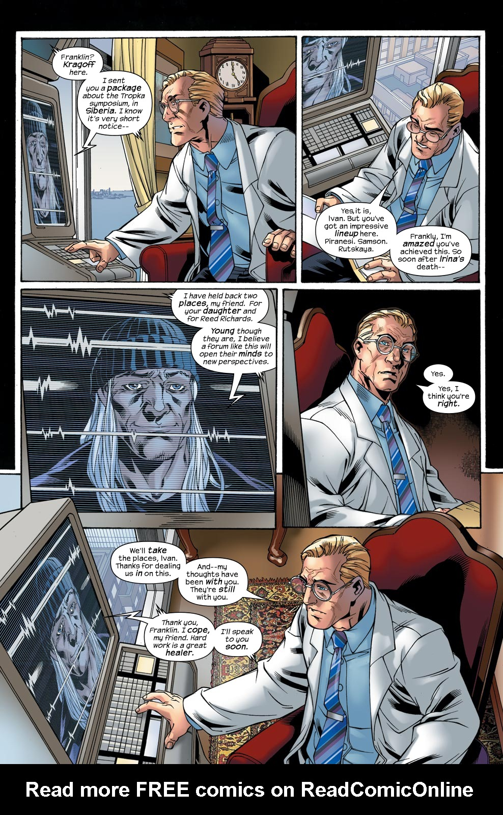 Read online Ultimate Fantastic Four (2004) comic -  Issue #47 - 10