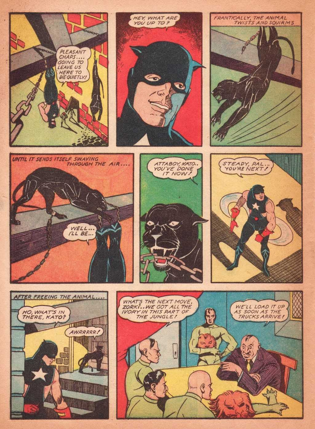 Read online Super-Magician Comics comic -  Issue #2 - 52