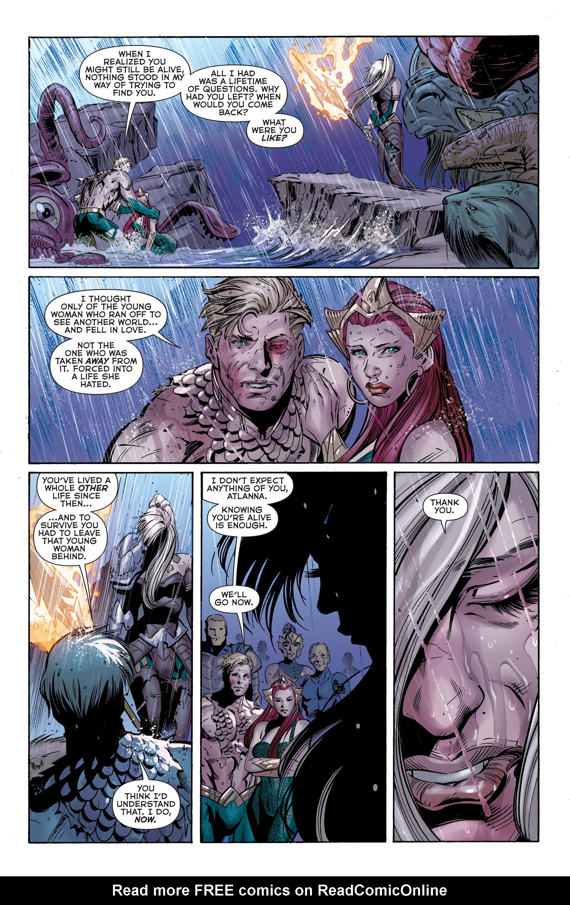 Read online Aquaman (2011) comic -  Issue #40 - 15