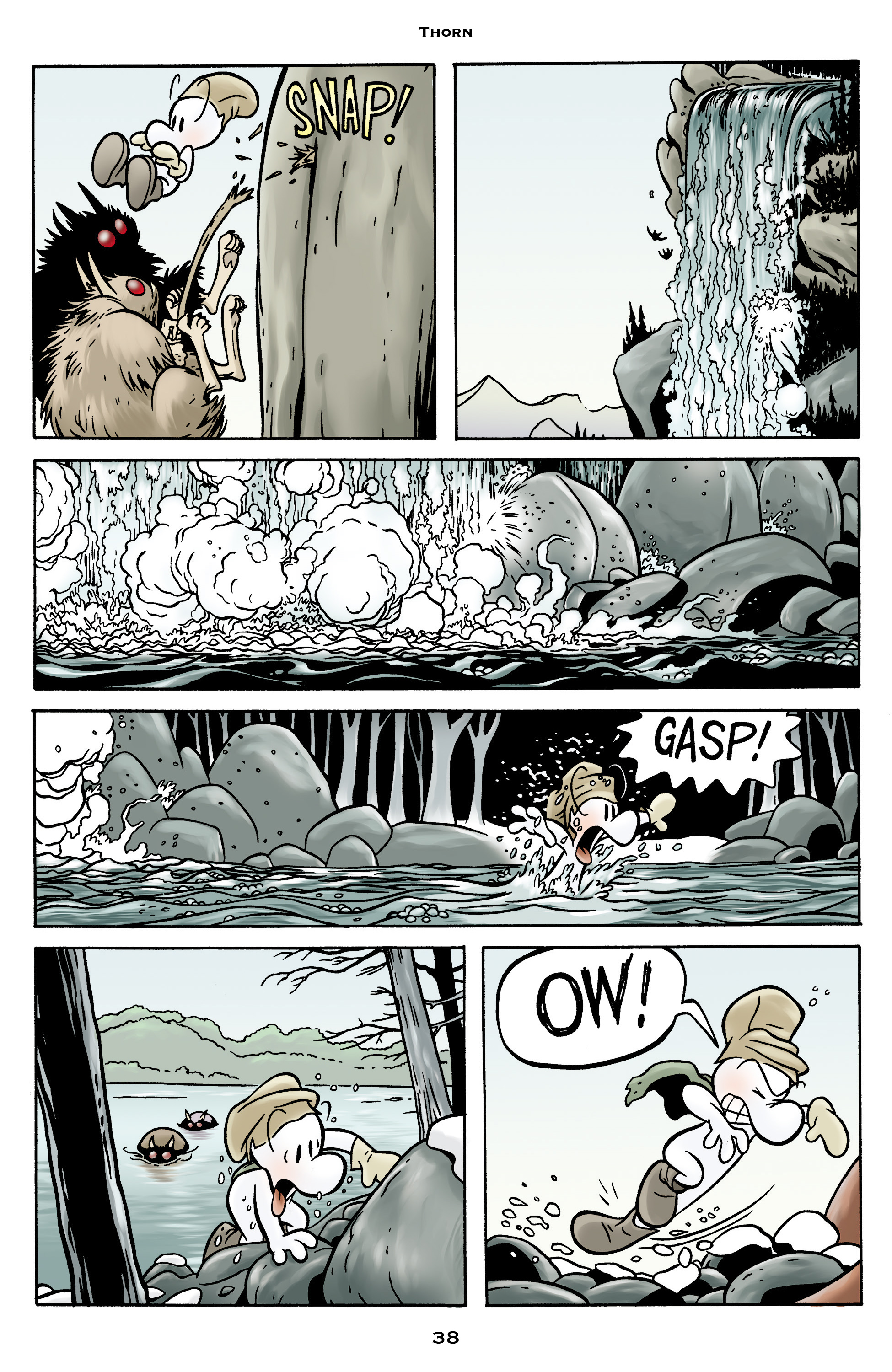 Read online Bone: Out From Boneville comic -  Issue # TPB - 38