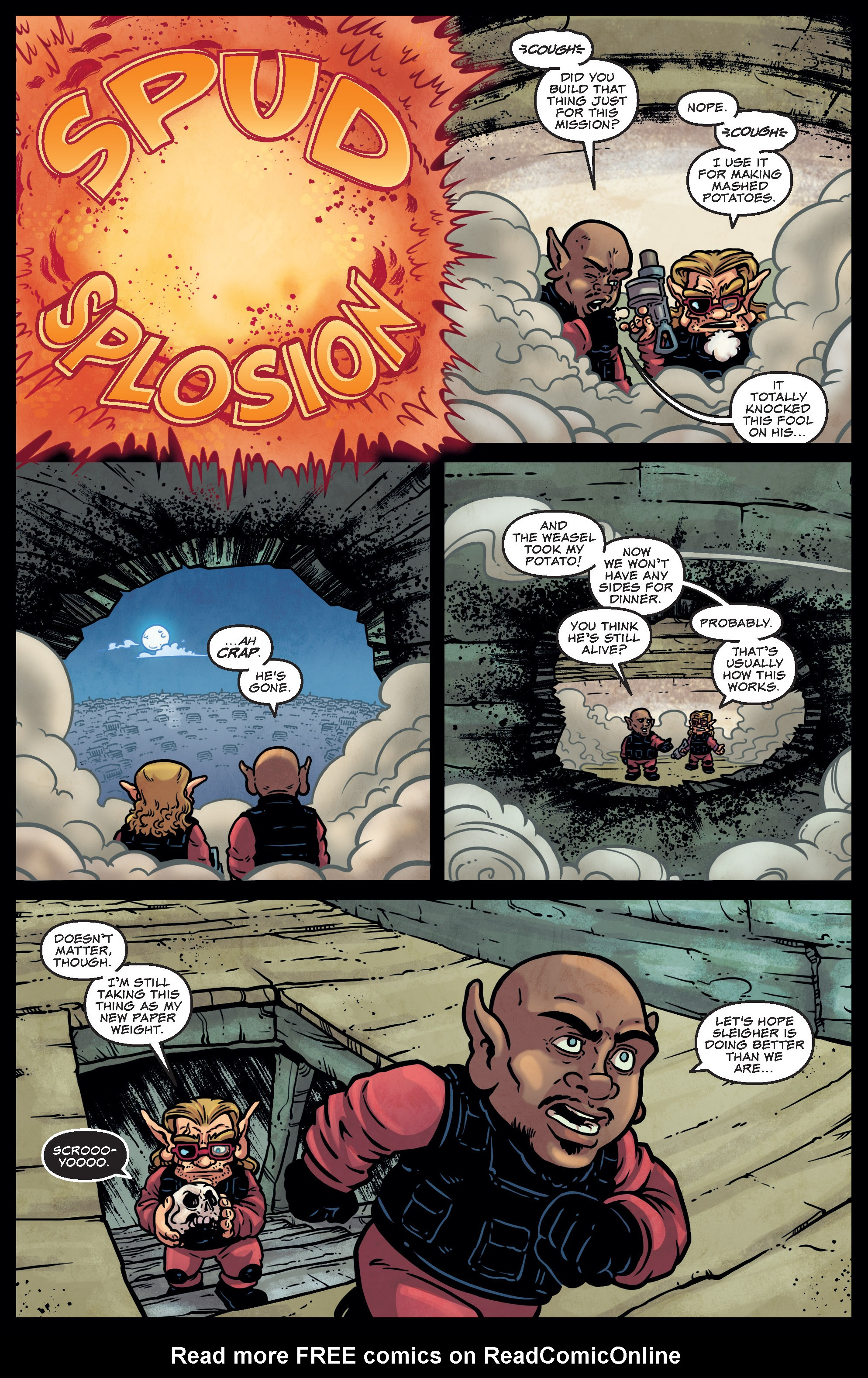 Read online Sleigher comic -  Issue #4 - 14