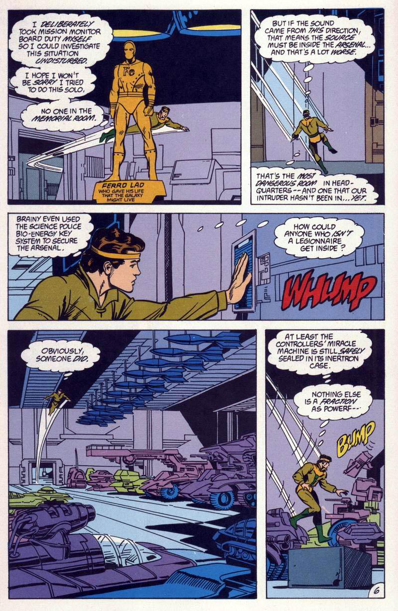 Legion of Super-Heroes (1984) 59 Page 6