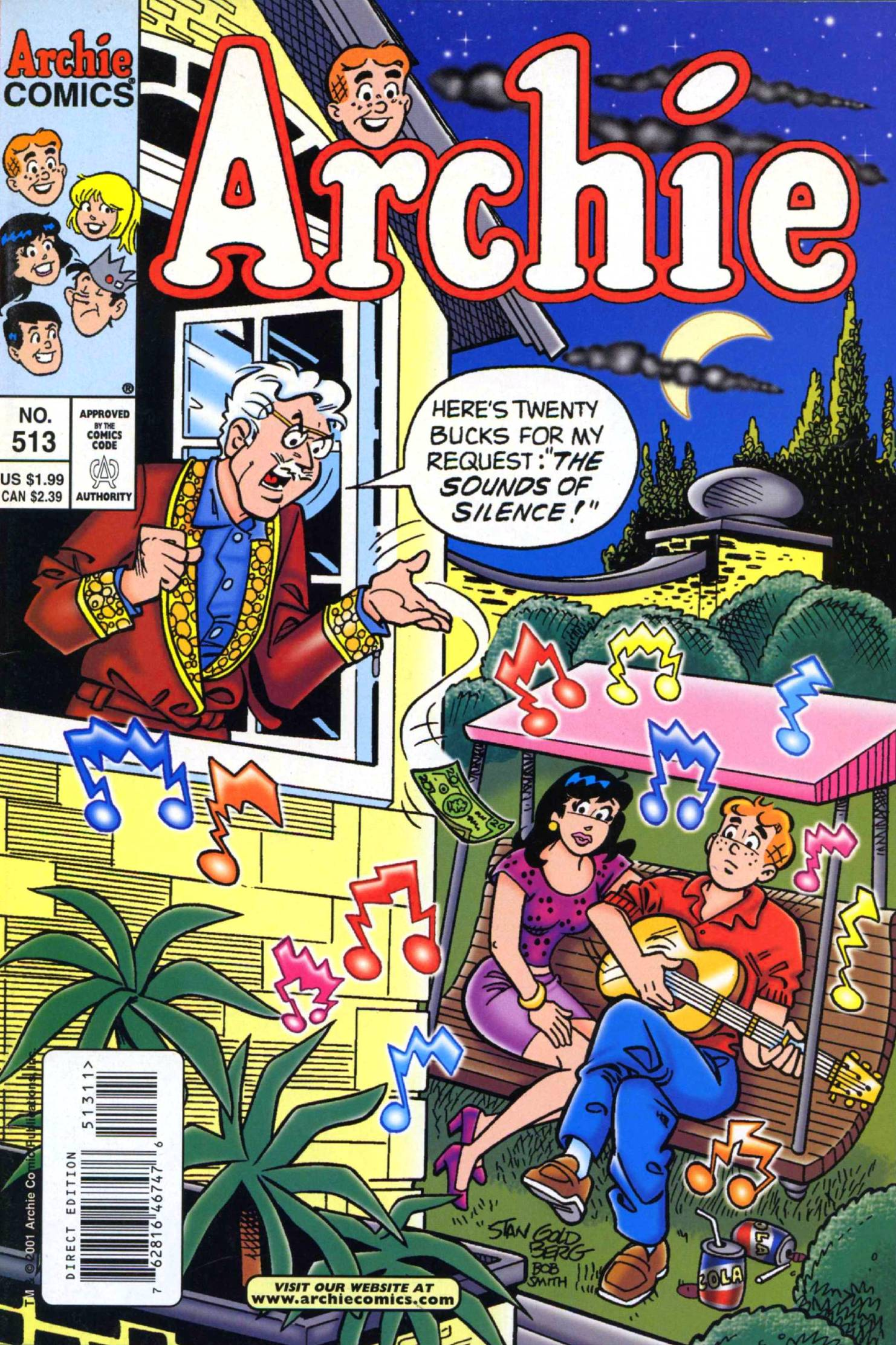 Read online Archie (1960) comic -  Issue #513 - 1