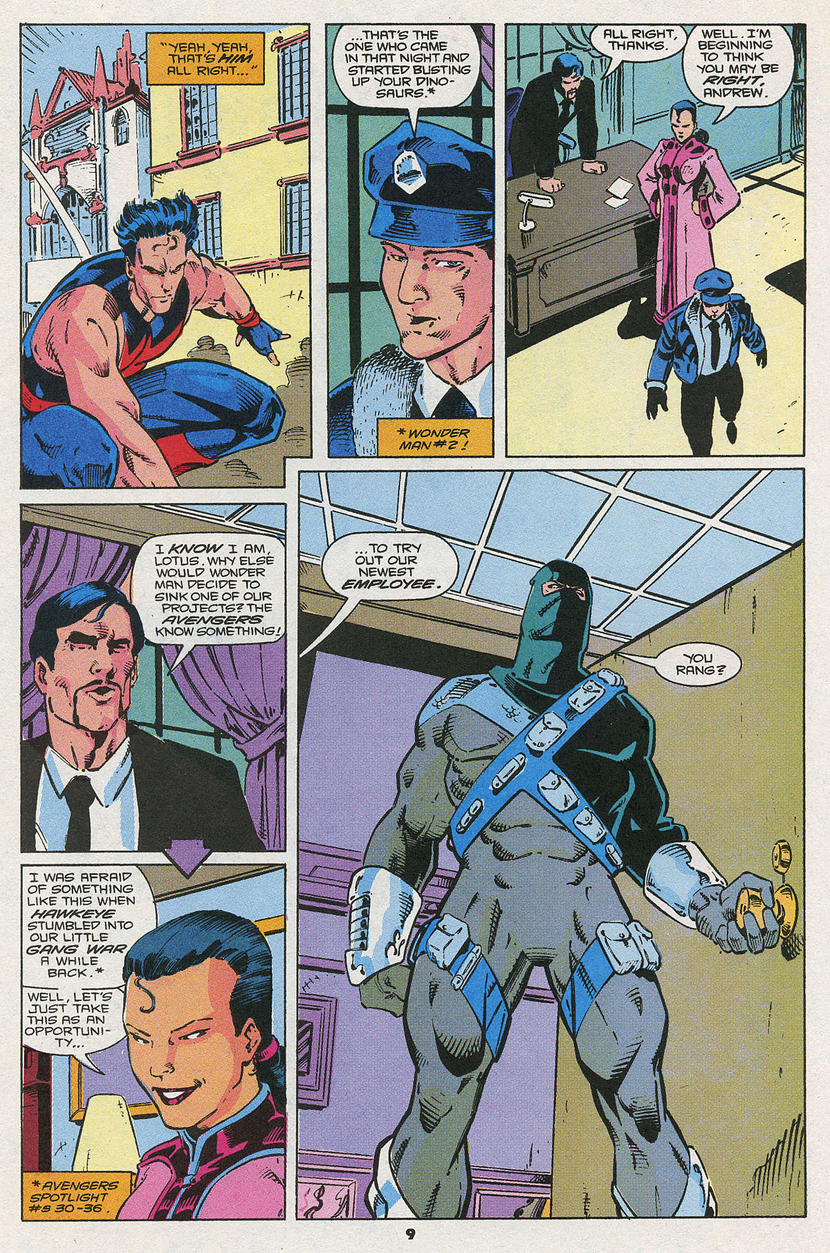 Read online Wonder Man (1991) comic -  Issue #4 - 8