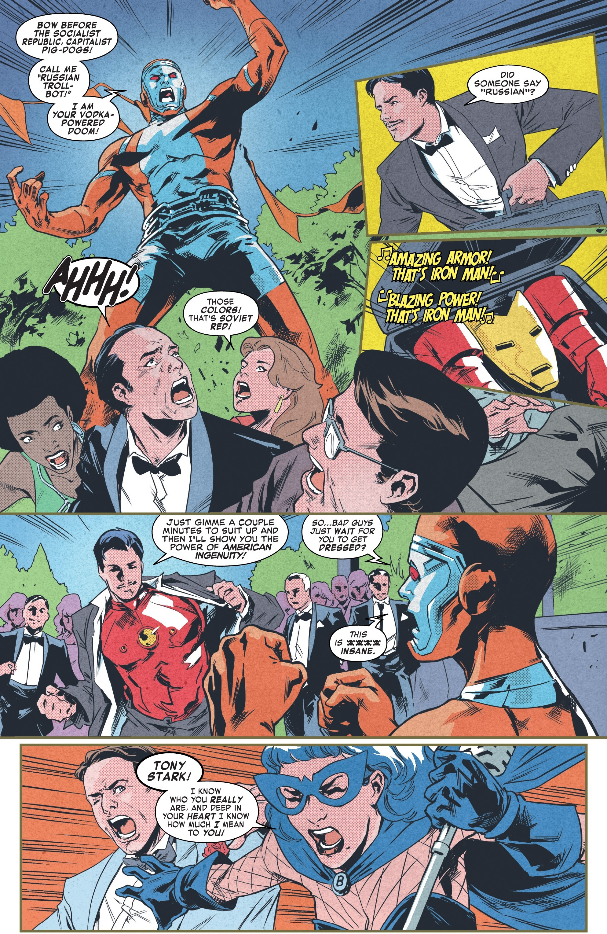 Read online Tony Stark: Iron Man comic -  Issue #9 - 16