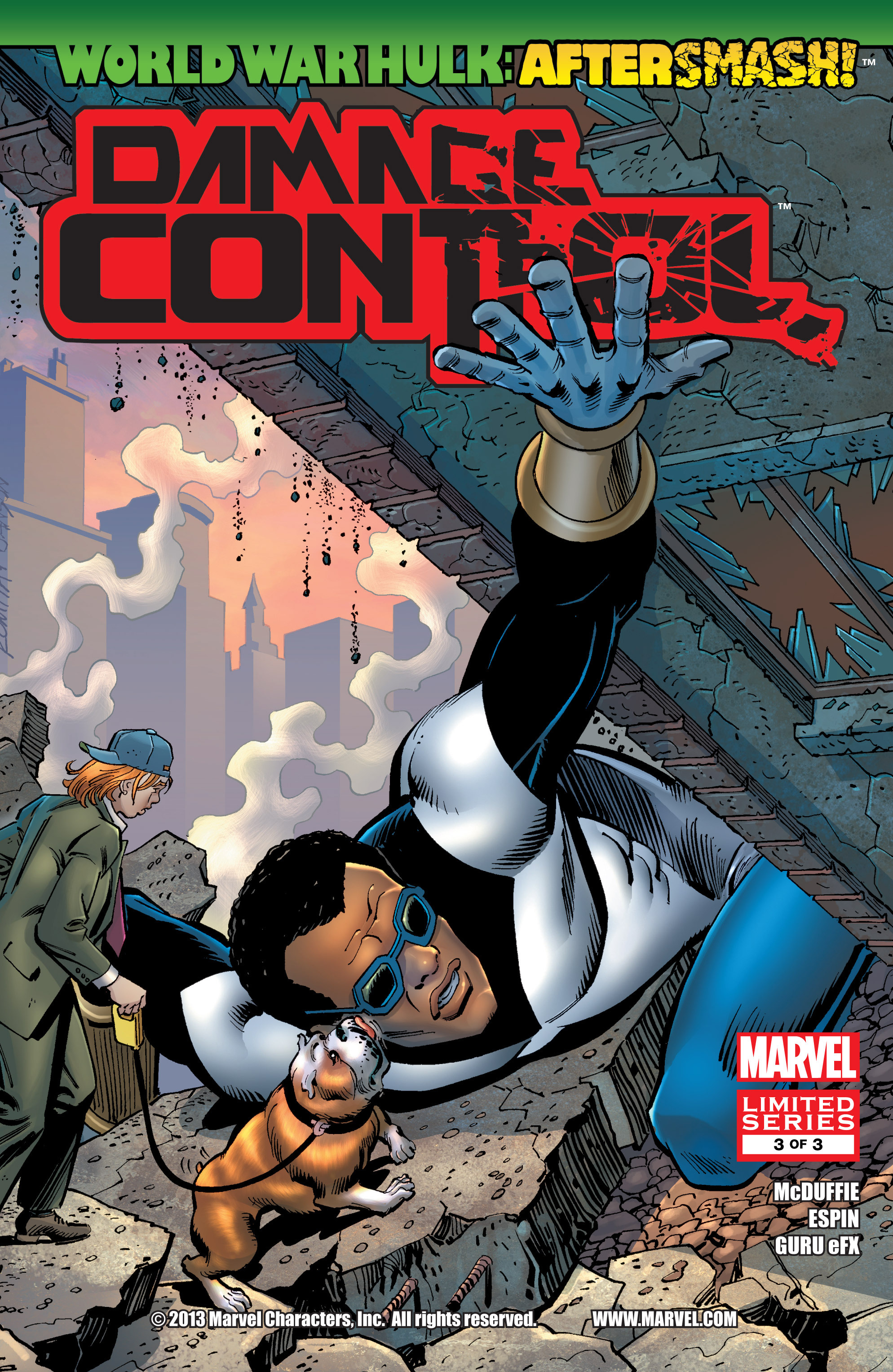 Read online WWH Aftersmash: Damage Control comic -  Issue #3 - 1