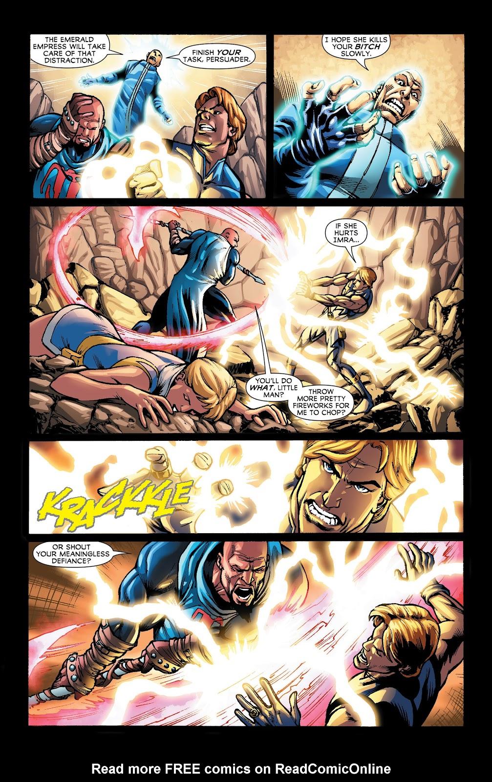 Legion of Super-Heroes (2011) Issue #22 #23 - English 5