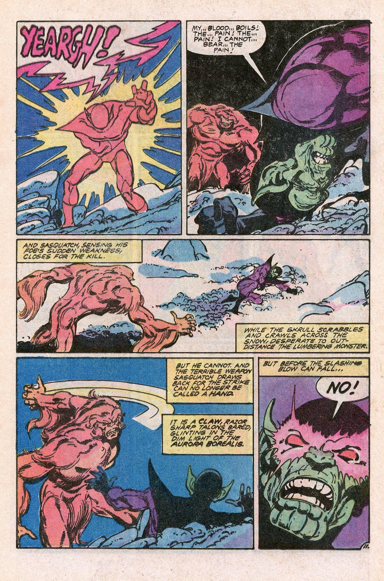 Read online Alpha Flight (1983) comic -  Issue #10 - 17