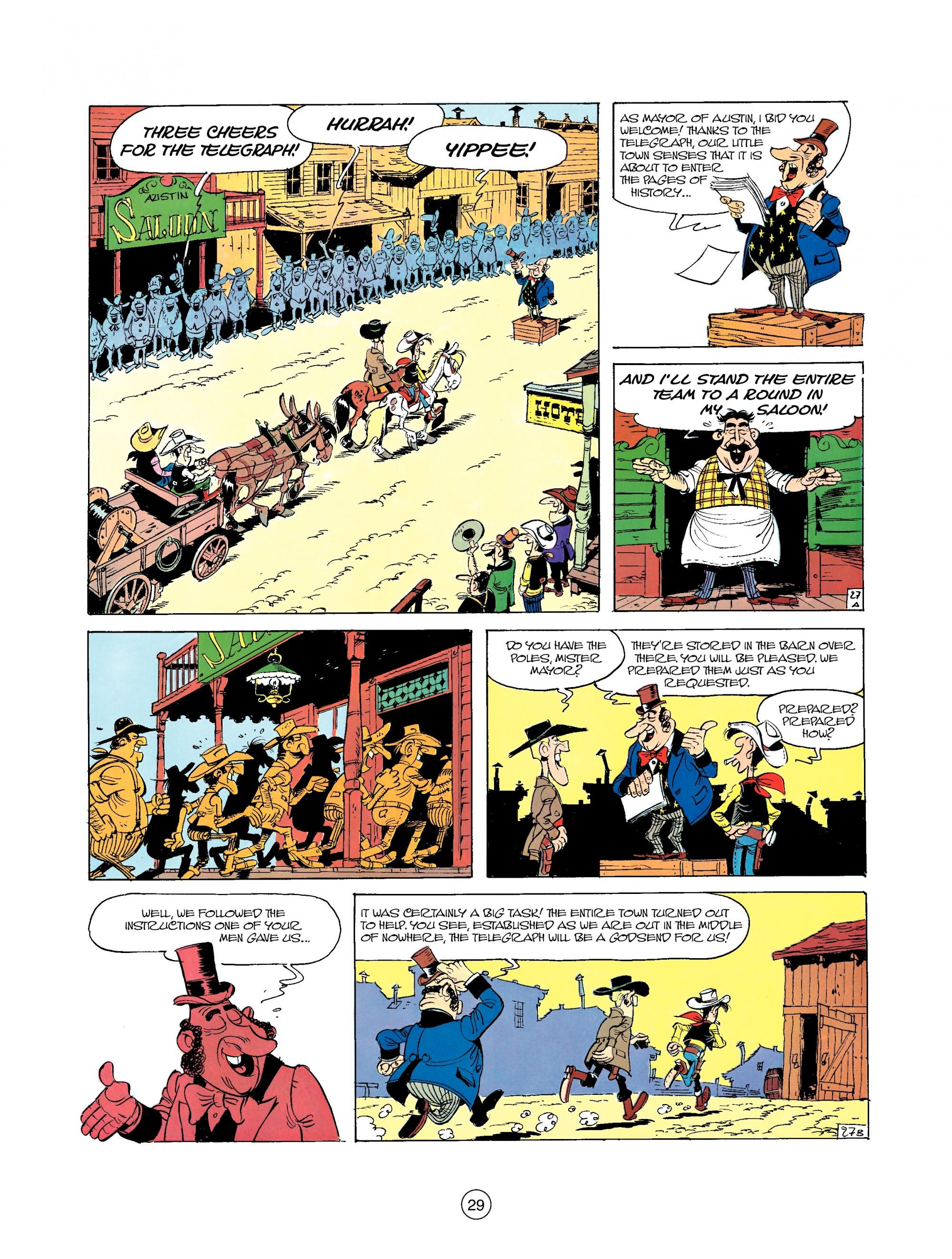 Read online A Lucky Luke Adventure comic -  Issue #35 - 29