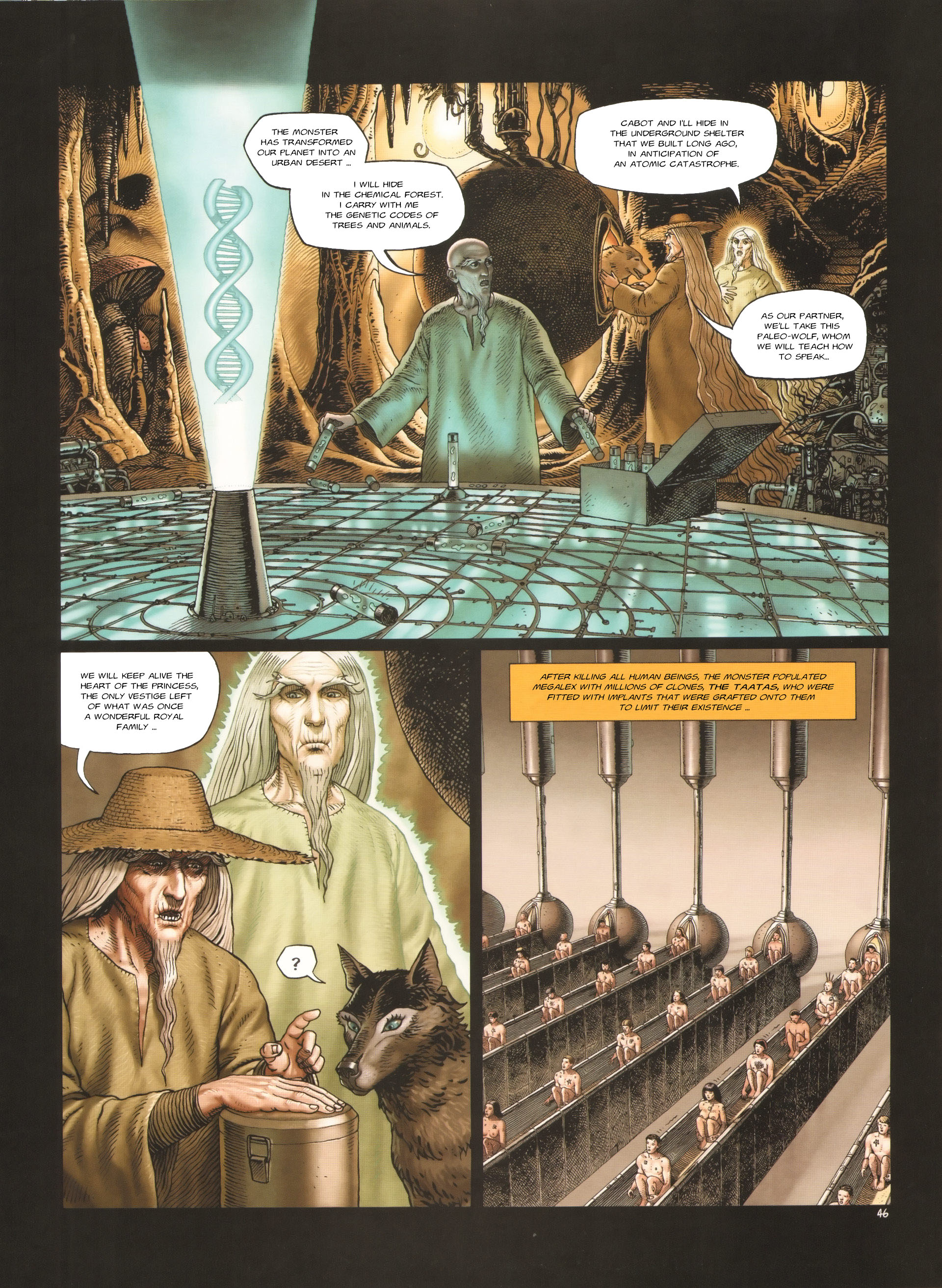 Read online Megalex (2014) comic -  Issue #3 - 49