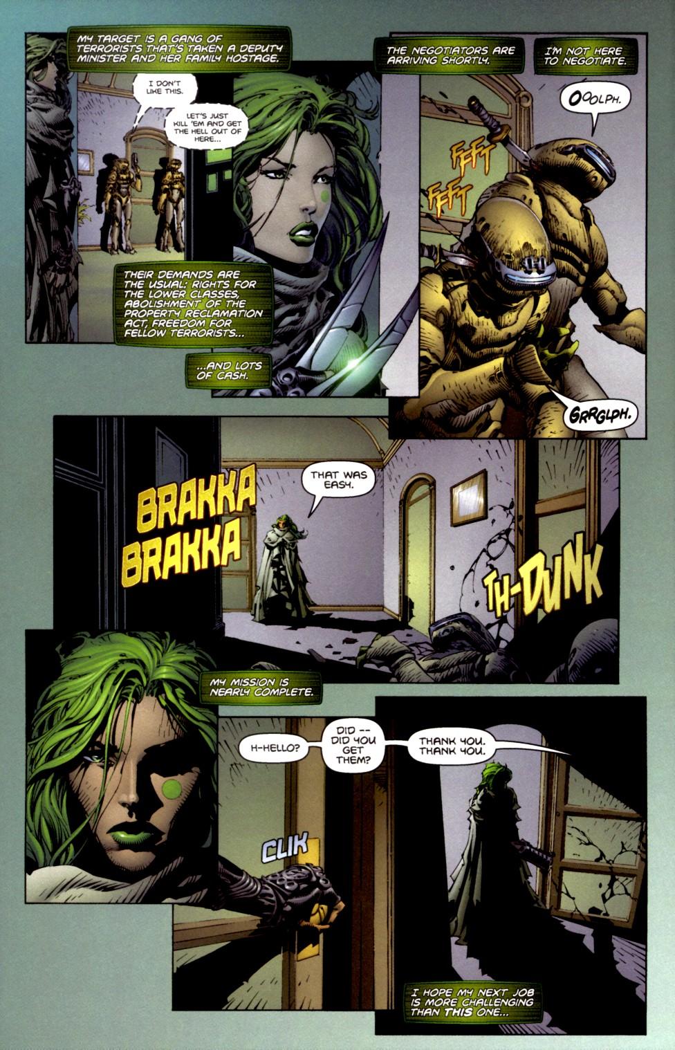 Read online Aphrodite IX (2000) comic -  Issue #2 - 12