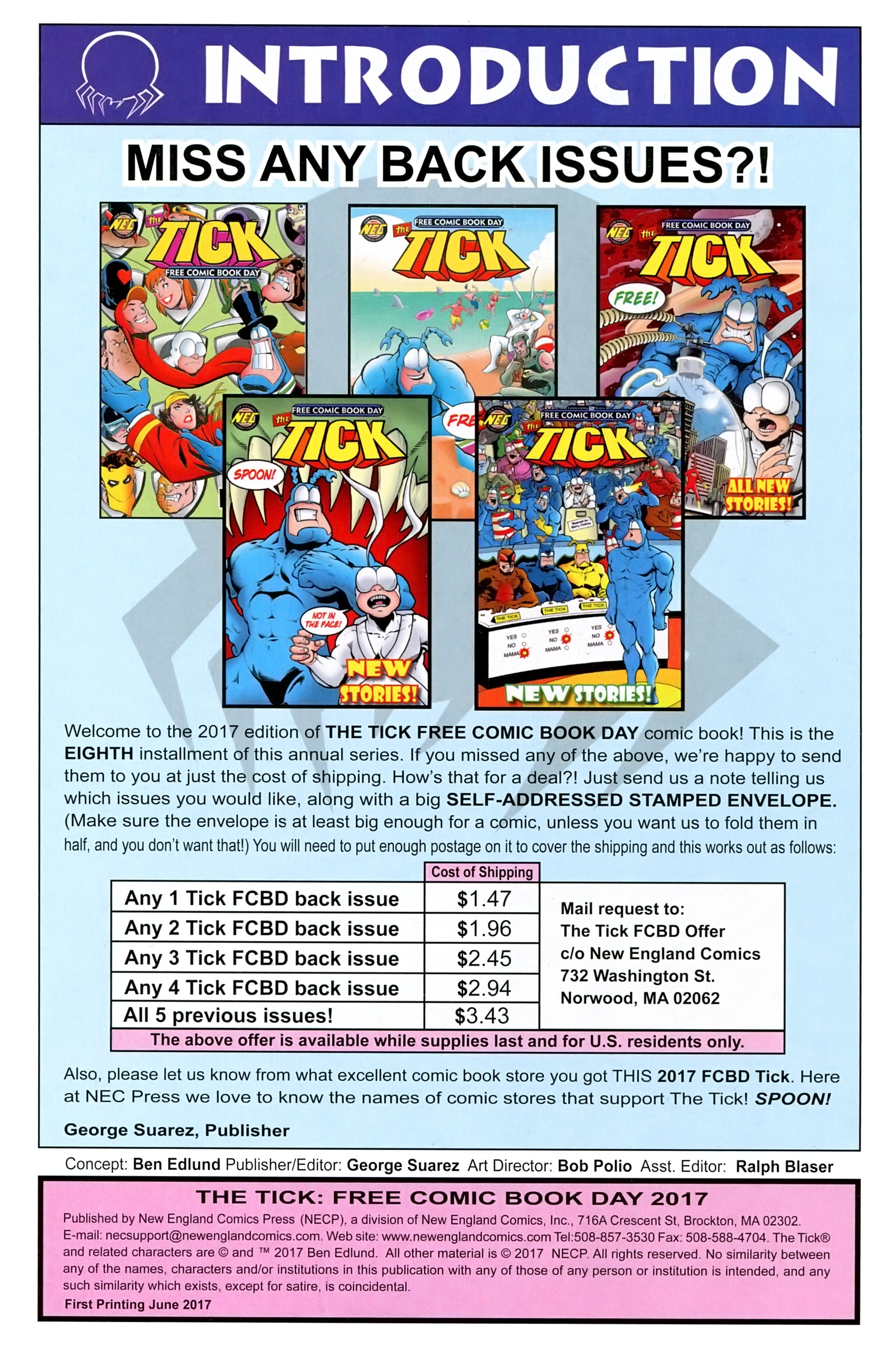 Read online Free Comic Book Day 2017 comic -  Issue # The Tick - 2