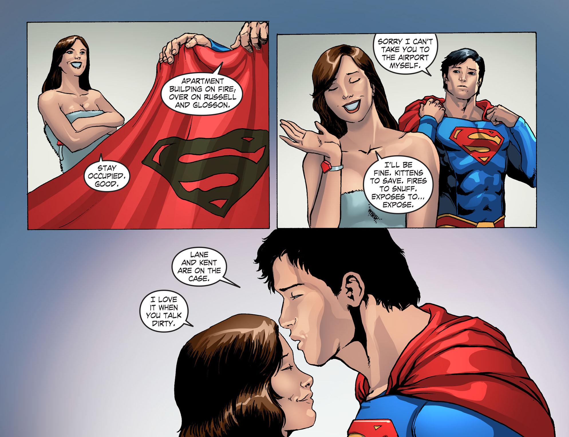 Read online Smallville: Season 11 comic -  Issue #42 - 15