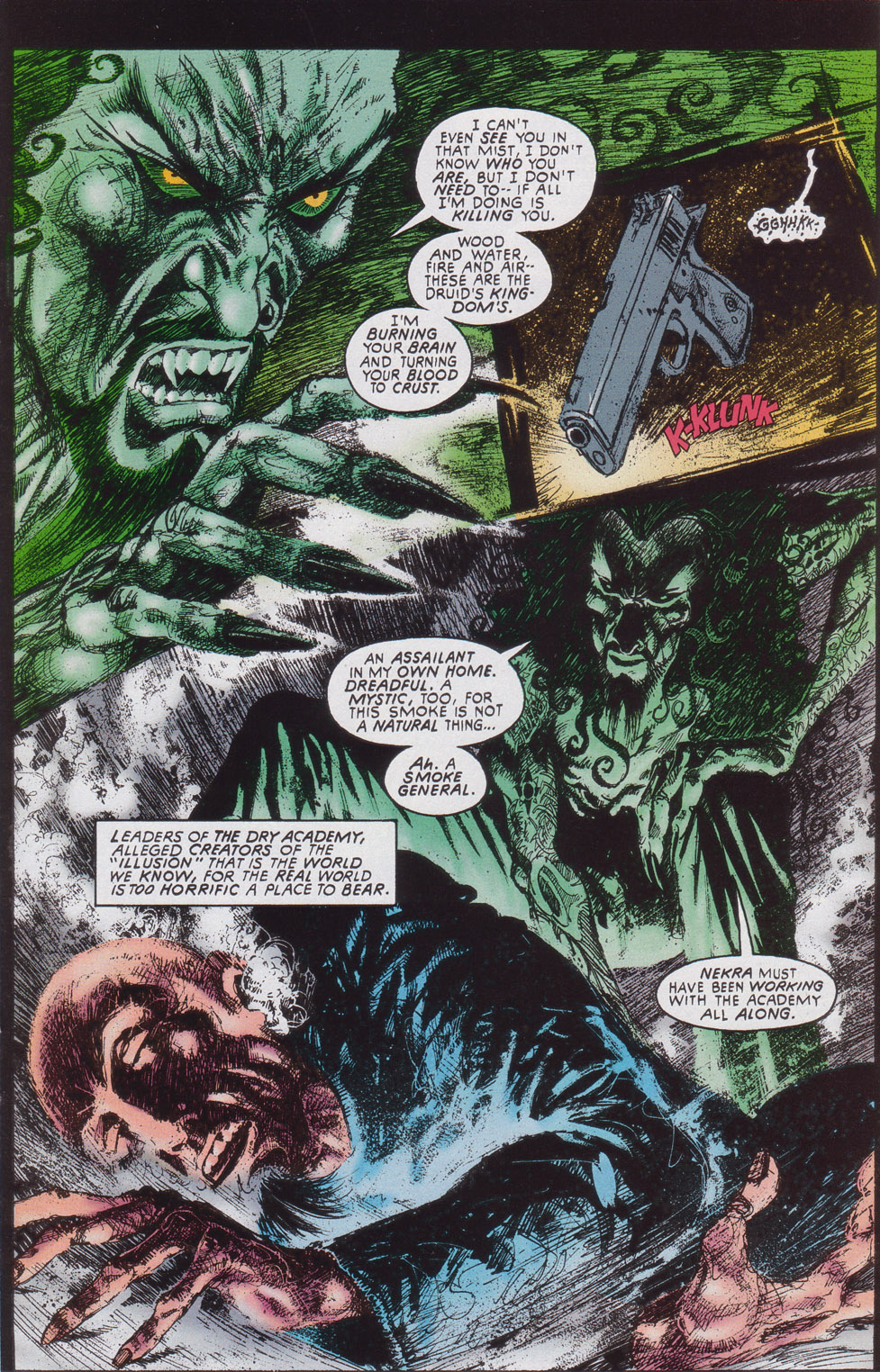 Read online Druid comic -  Issue #4 - 16