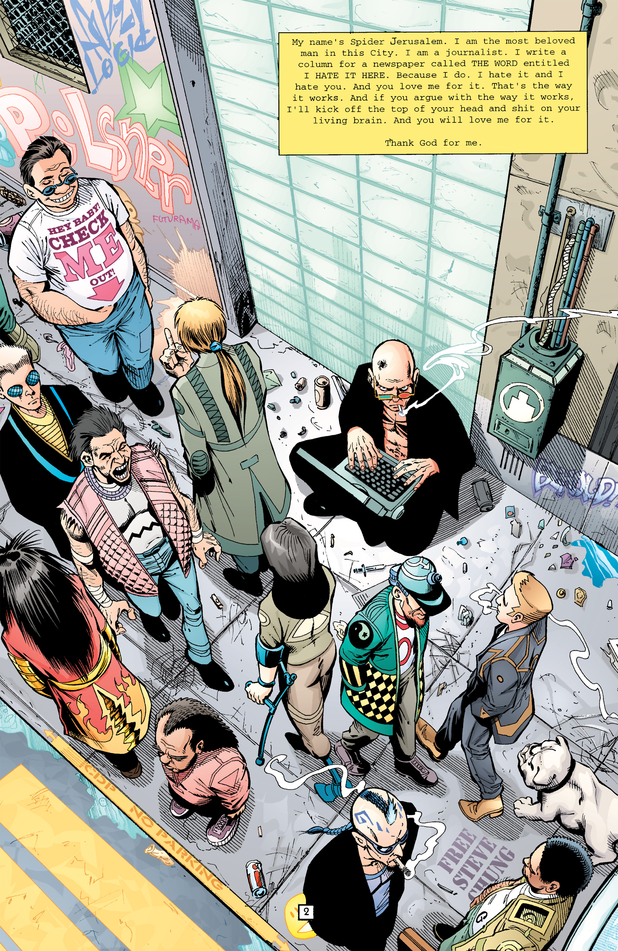Read online Transmetropolitan comic -  Issue #26 - 3