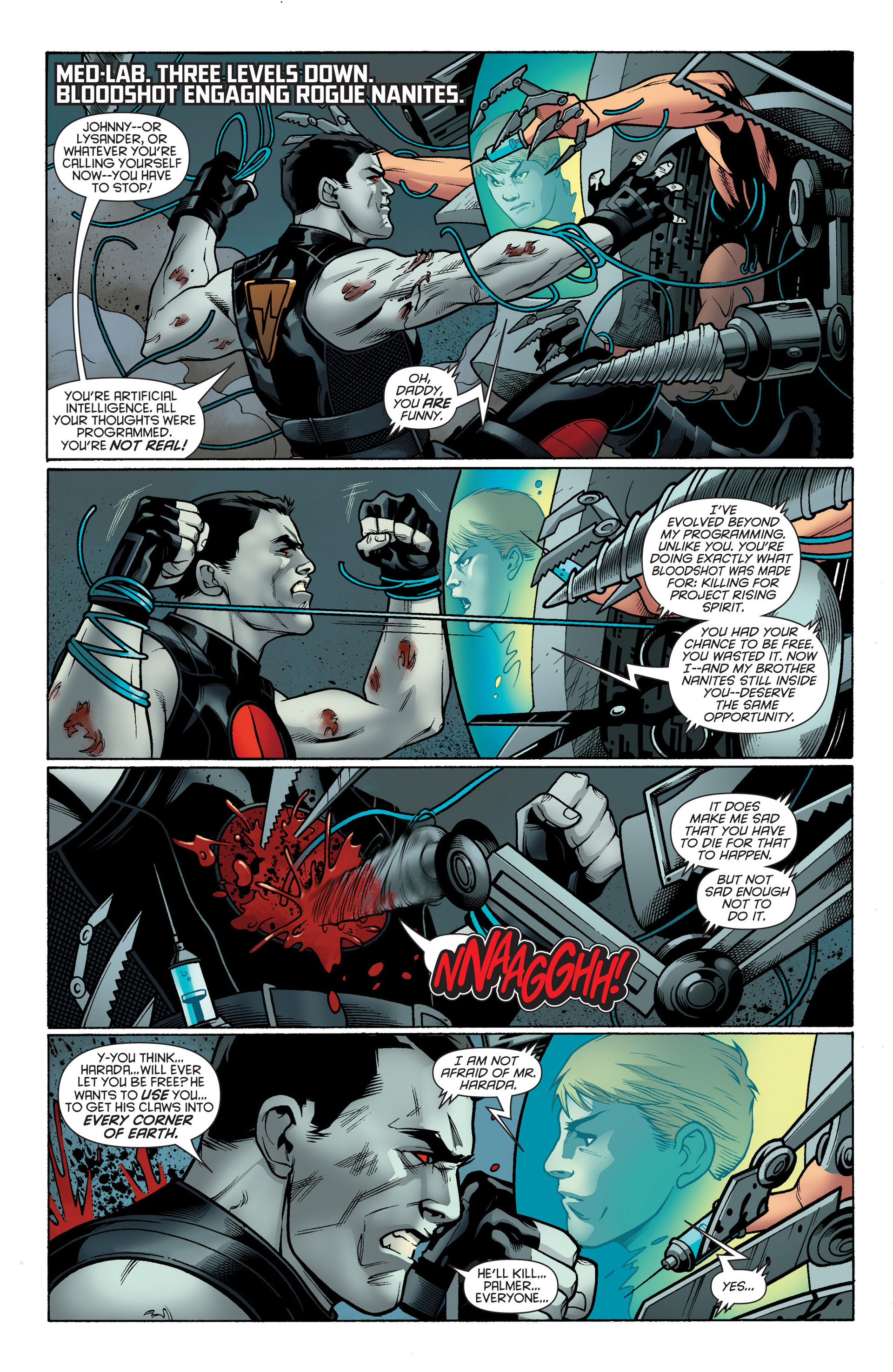 Read online Bloodshot and H.A.R.D.Corps comic -  Issue #17 - 7