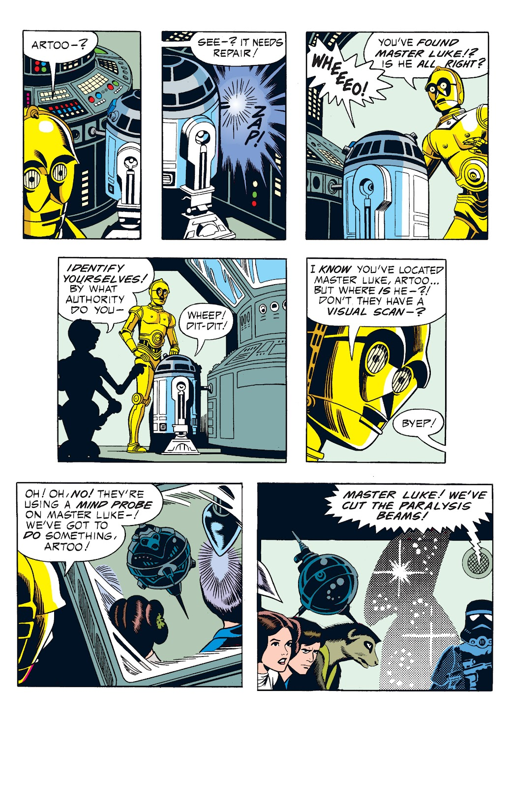 Read online Star Wars Legends: The Newspaper Strips - Epic Collection comic -  Issue # TPB (Part 1) - 68