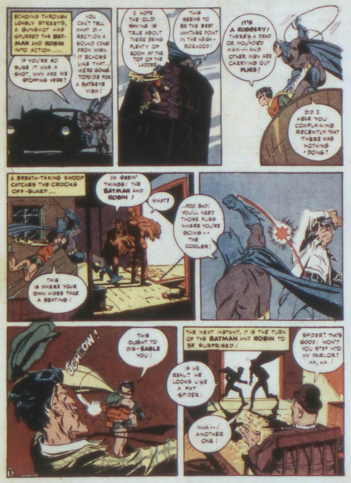 Read online Detective Comics (1937) comic -  Issue #74 - 5