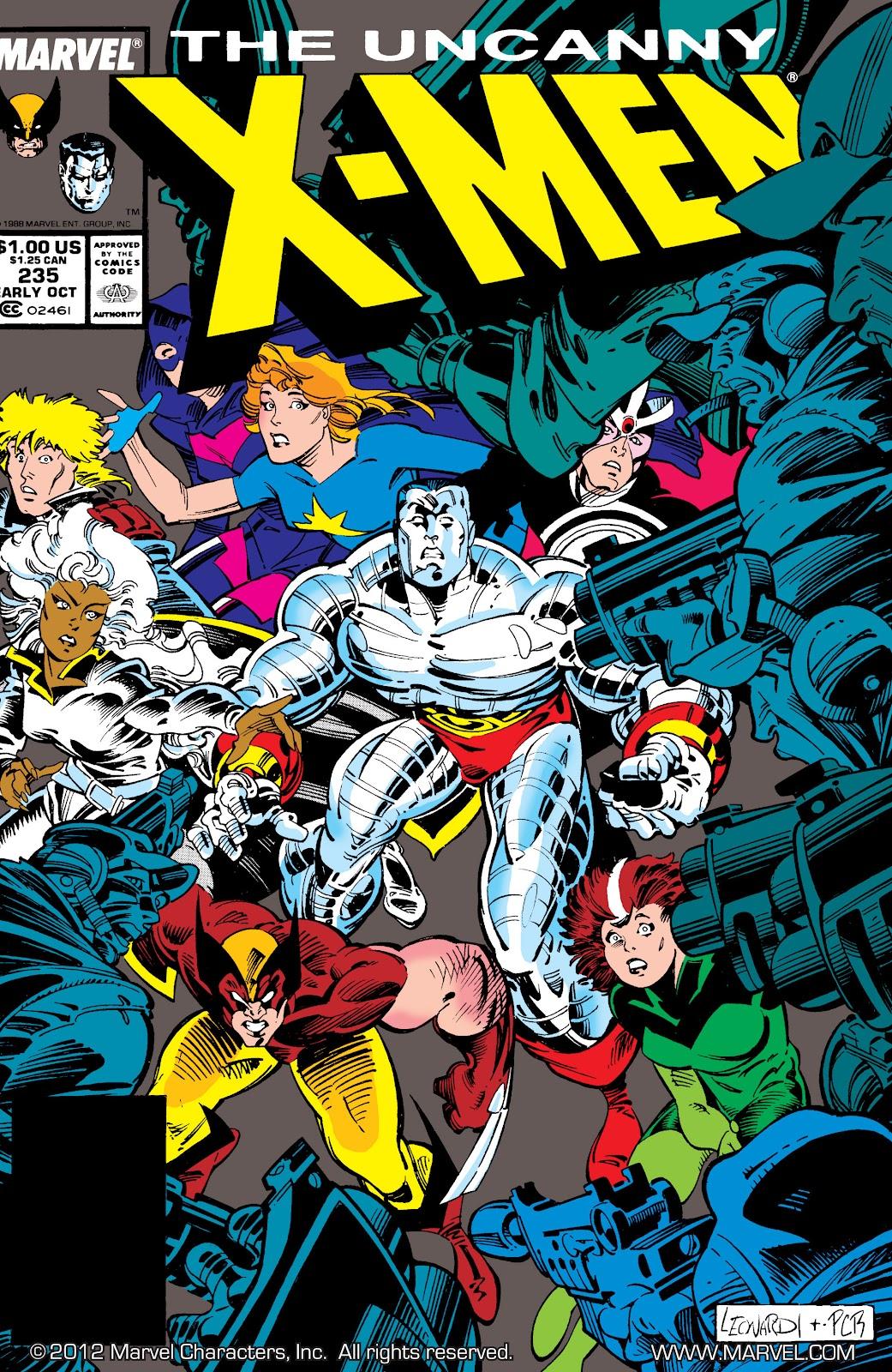 Uncanny X-Men (1963) issue 235 - Page 1