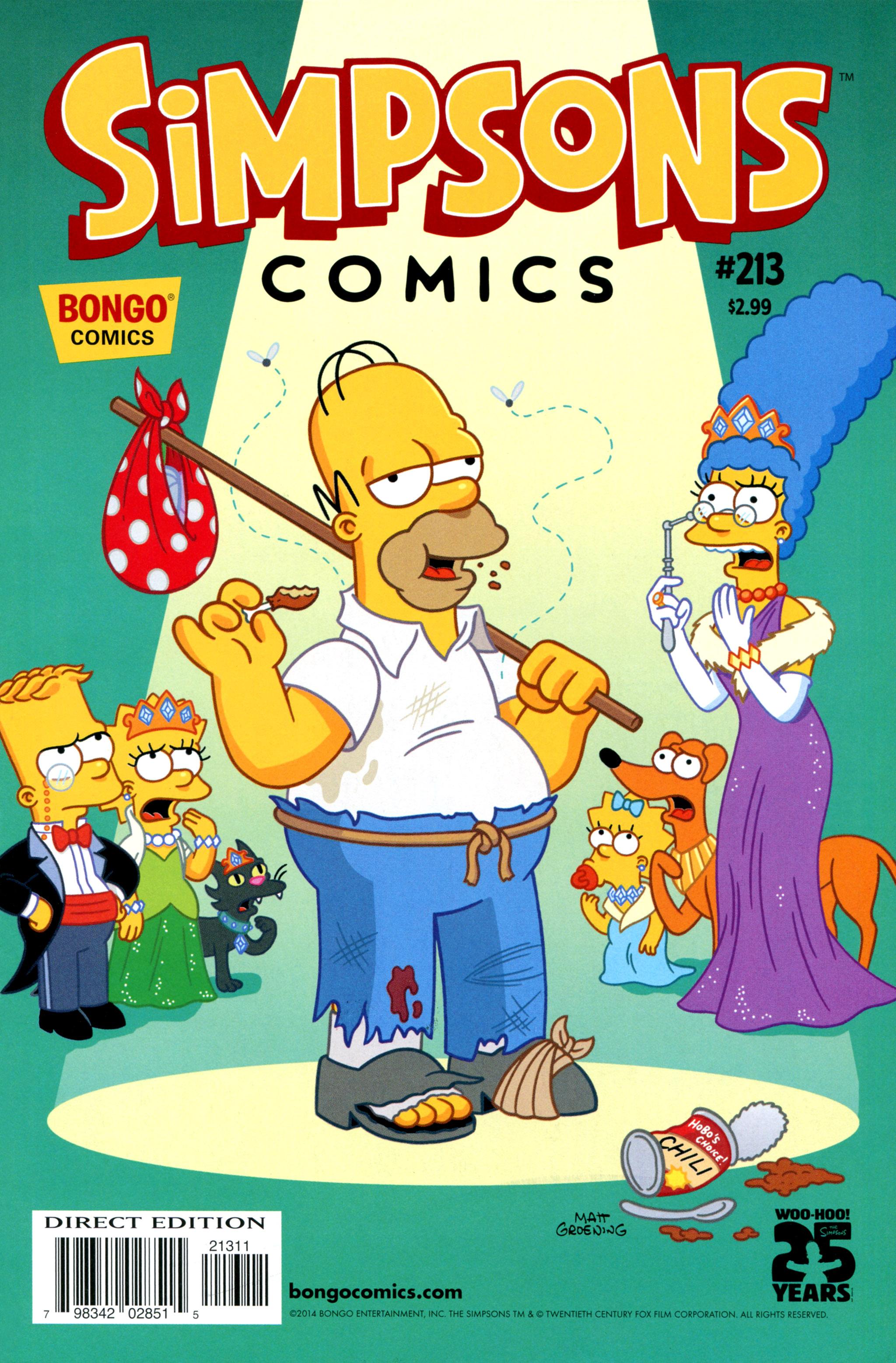 Simpsons Comics 213 Page 1