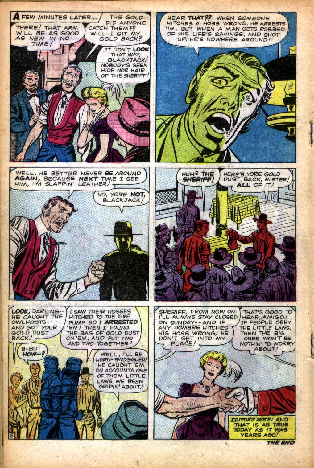 Gunsmoke Western issue 66 - Page 18