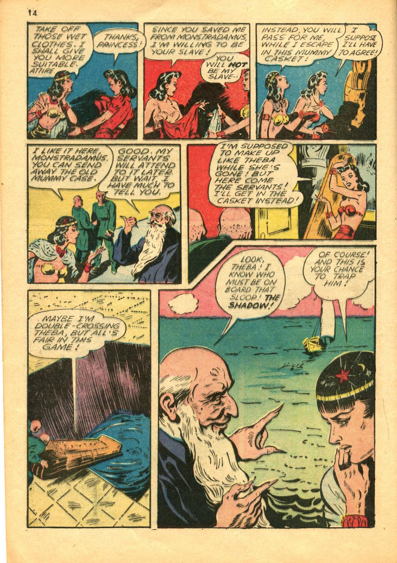 Read online Shadow Comics comic -  Issue #30 - 14