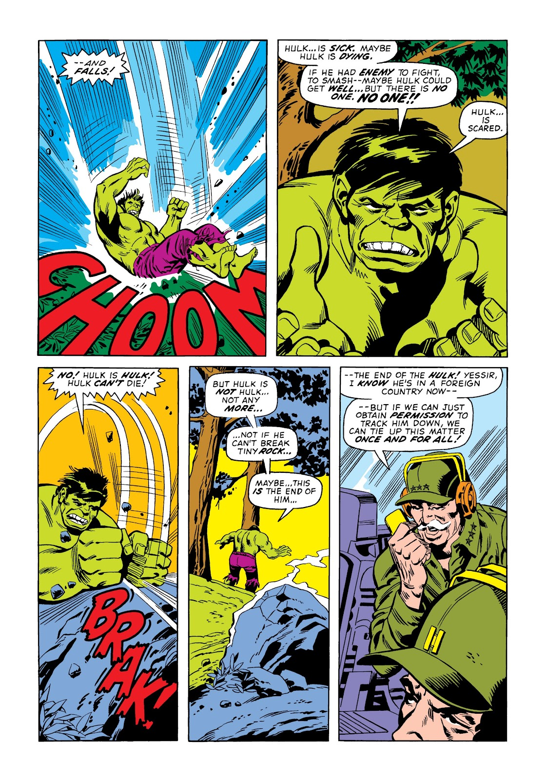 Read online Marvel Masterworks: The Incredible Hulk comic -  Issue # TPB 9 (Part 2) - 6