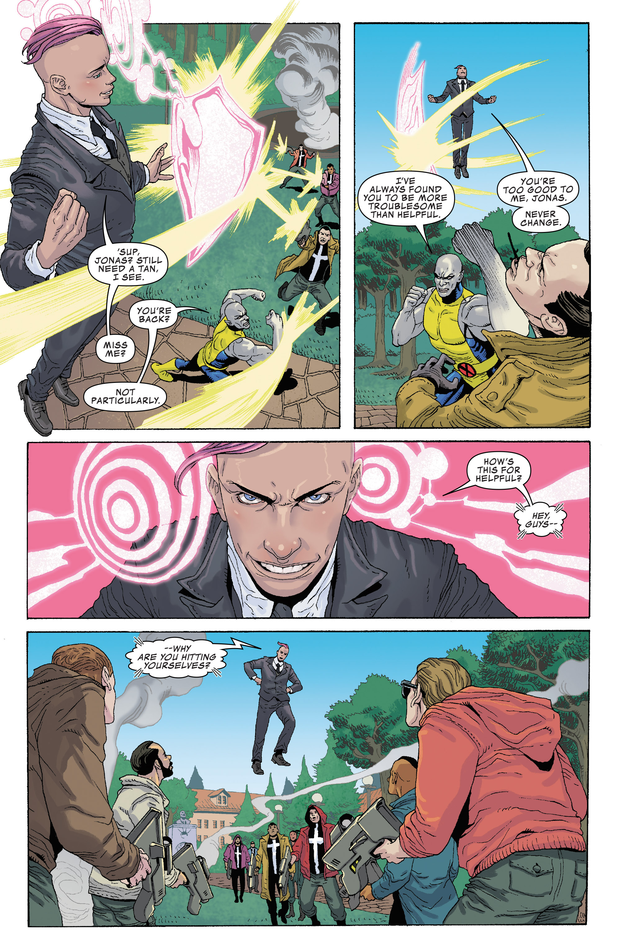 Read online Generation X (2017) comic -  Issue #2 - 8