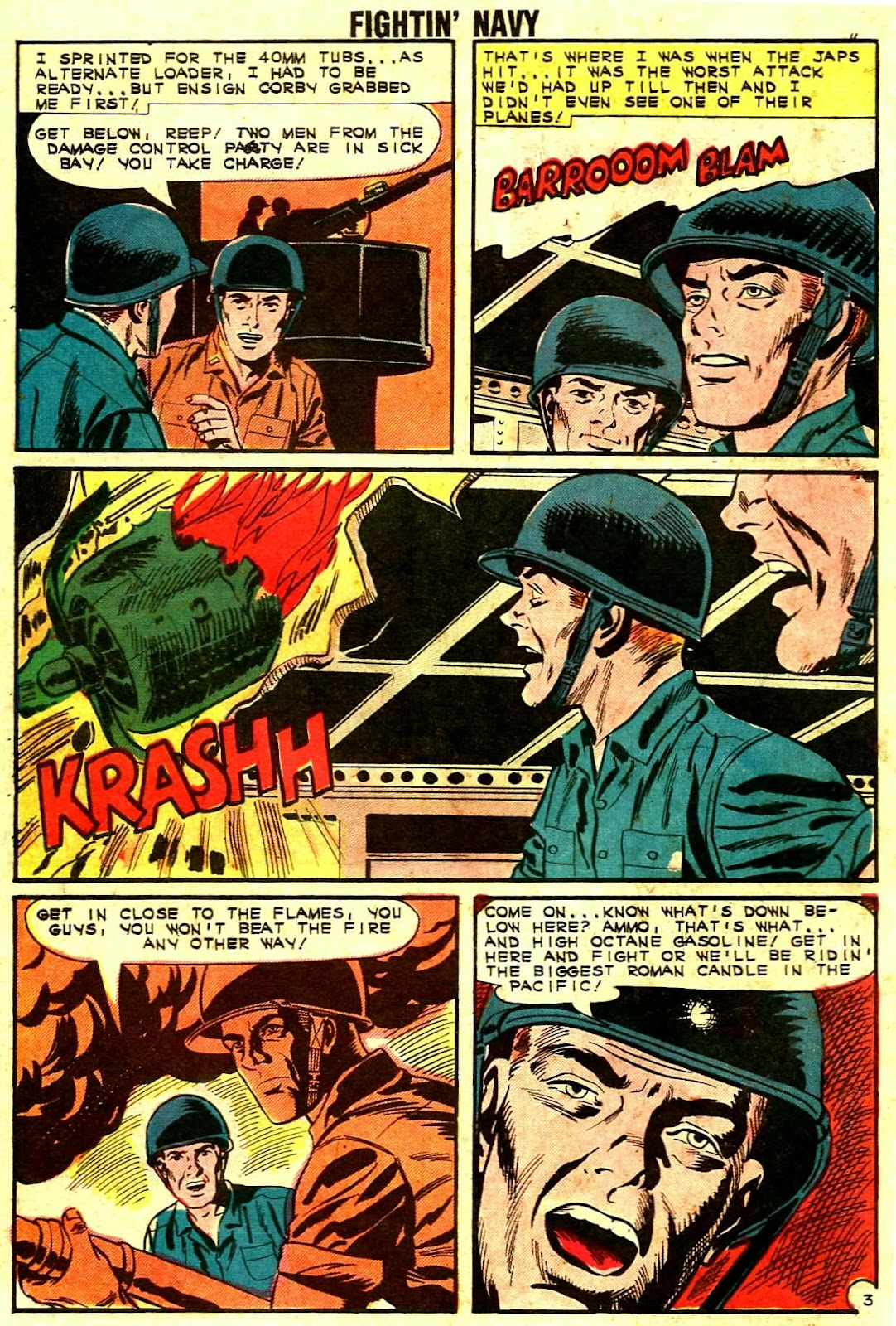 Read online Fightin' Navy comic -  Issue #109 - 10