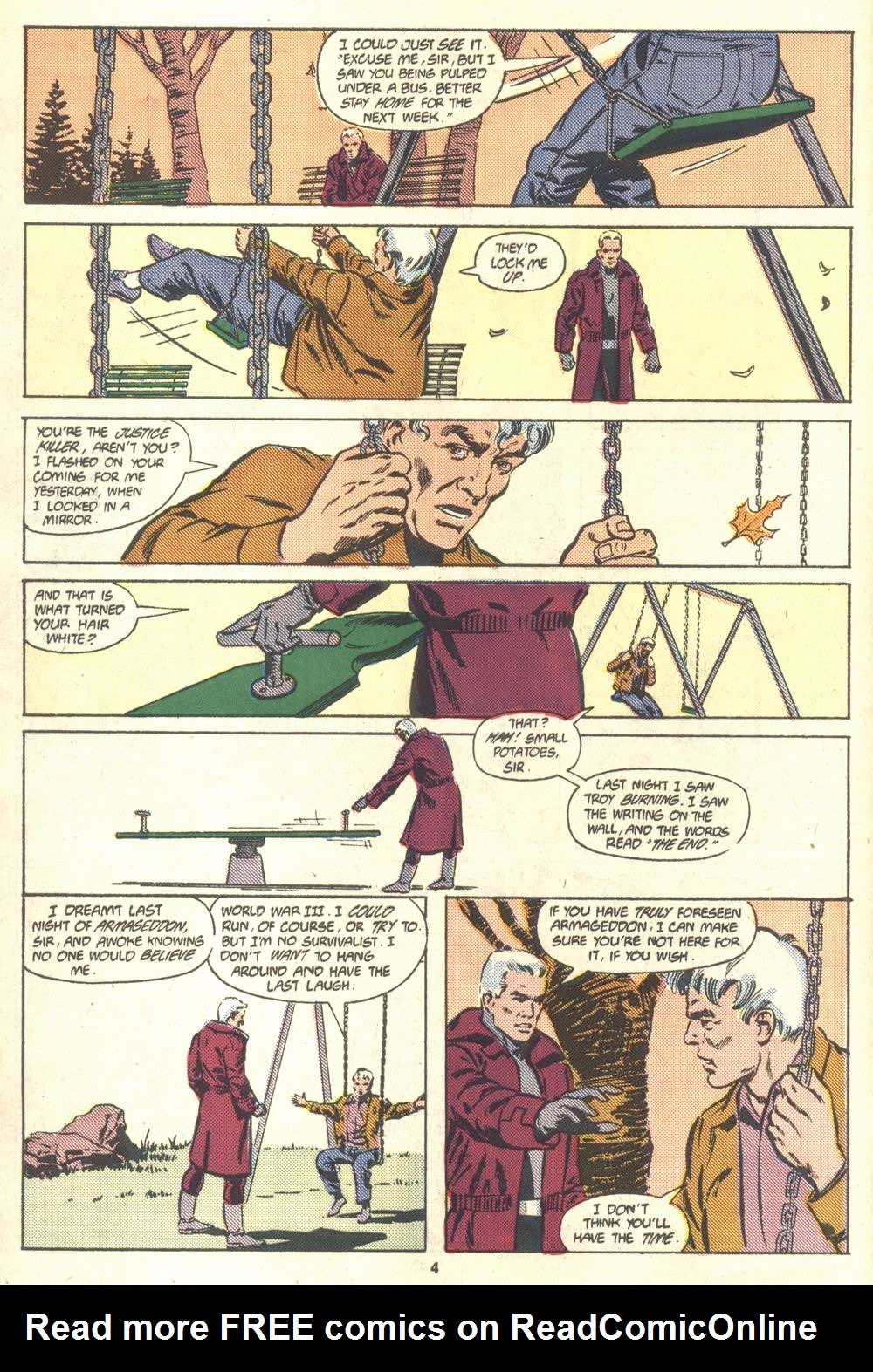Read online Justice (1986) comic -  Issue #18 - 5
