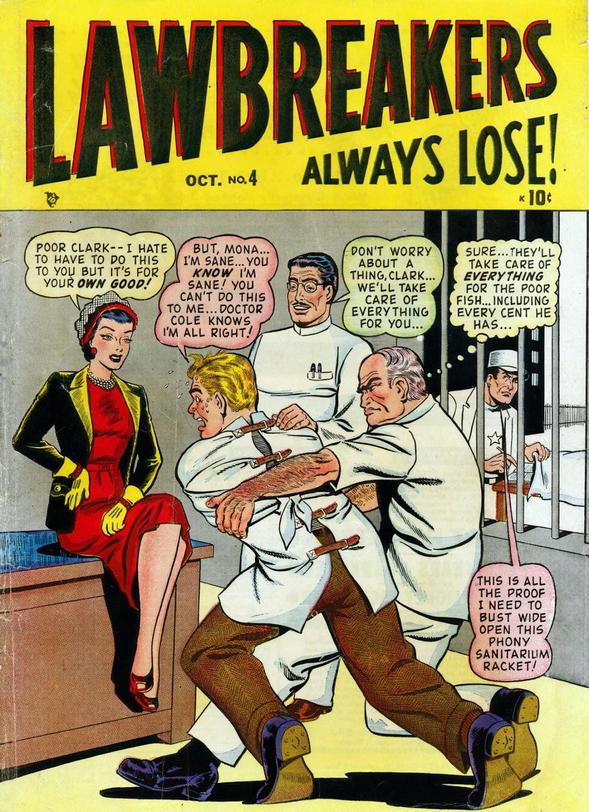 Lawbreakers Always Lose! 4 Page 1