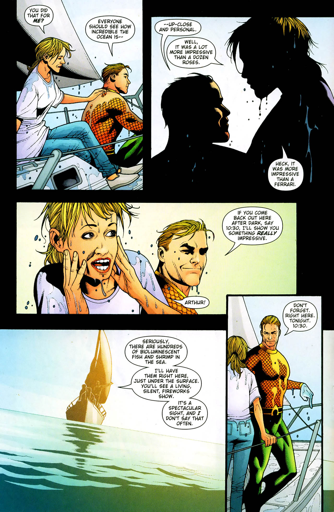 Read online Aquaman (2003) comic -  Issue #33 - 5
