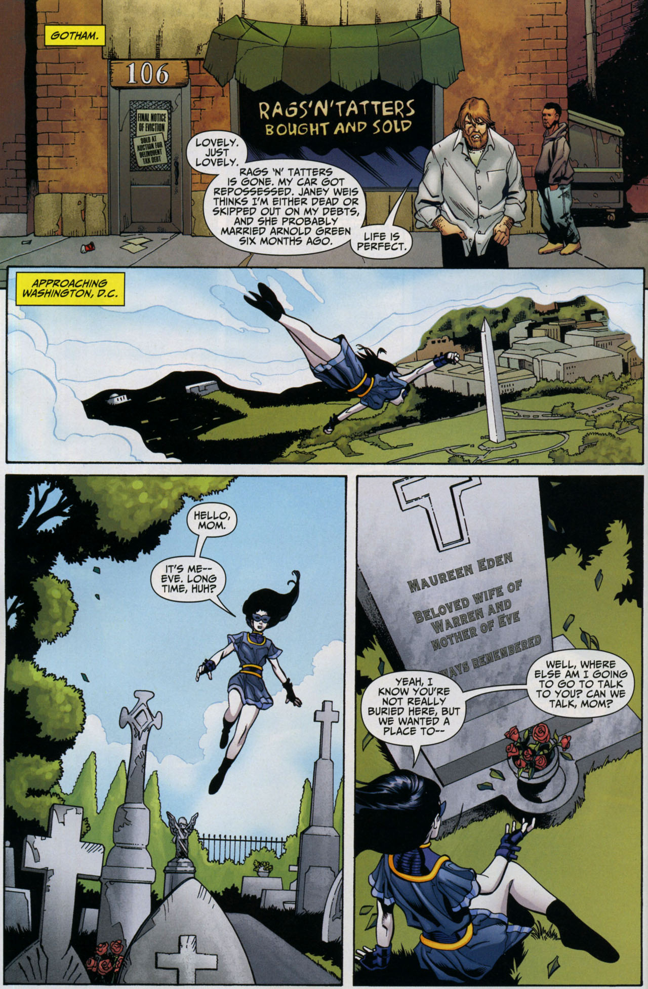 Read online Shadowpact comic -  Issue #5 - 16