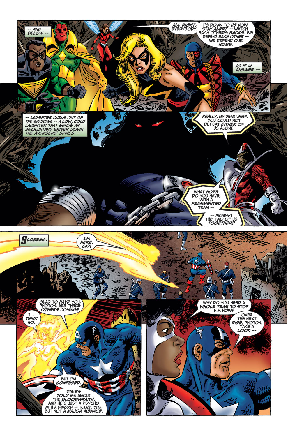 Read online Avengers (1998) comic -  Issue #36 - 21