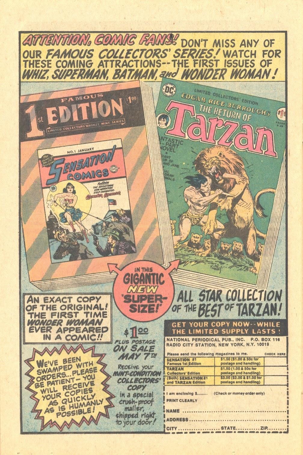 Read online Strange Sports Stories (1973) comic -  Issue #6 - 16