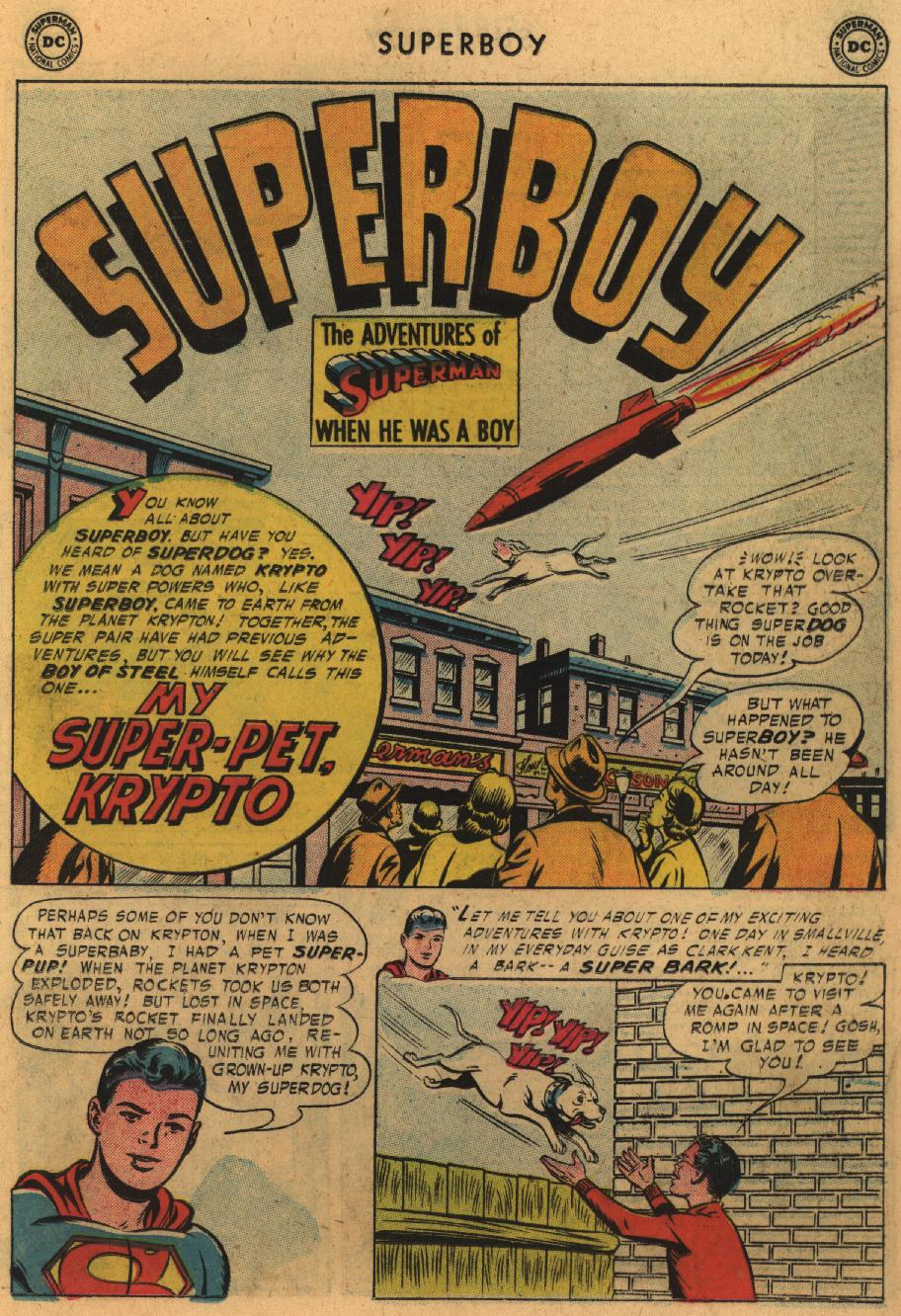Superboy (1949) issue 51 - Page 11