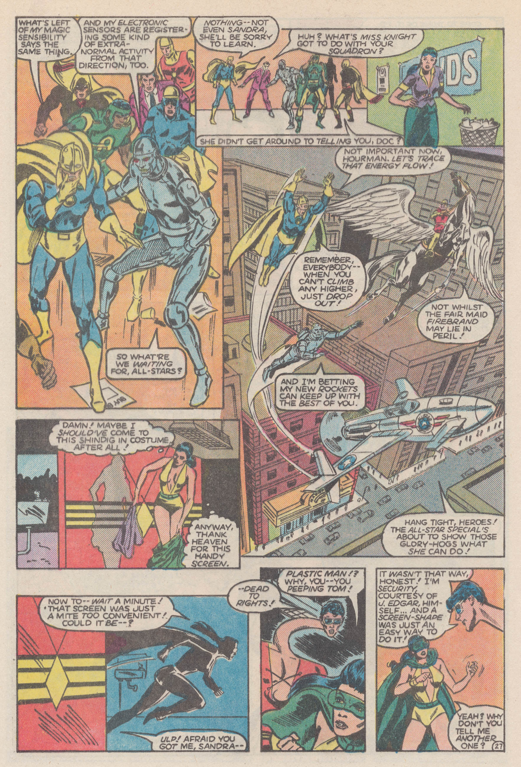 Read online All-Star Squadron comic -  Issue #50 - 32