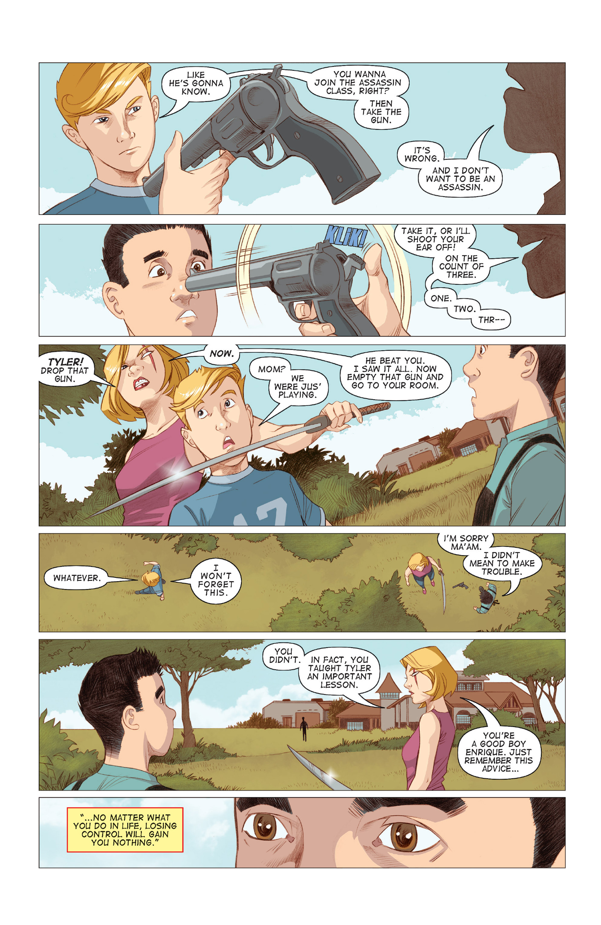 Read online Five Weapons comic -  Issue #7 - 20