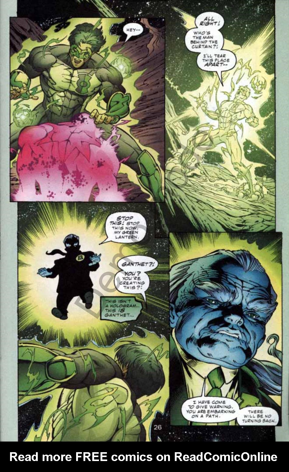 Read online Green Lantern: Our Worlds At War comic -  Issue # Full - 25