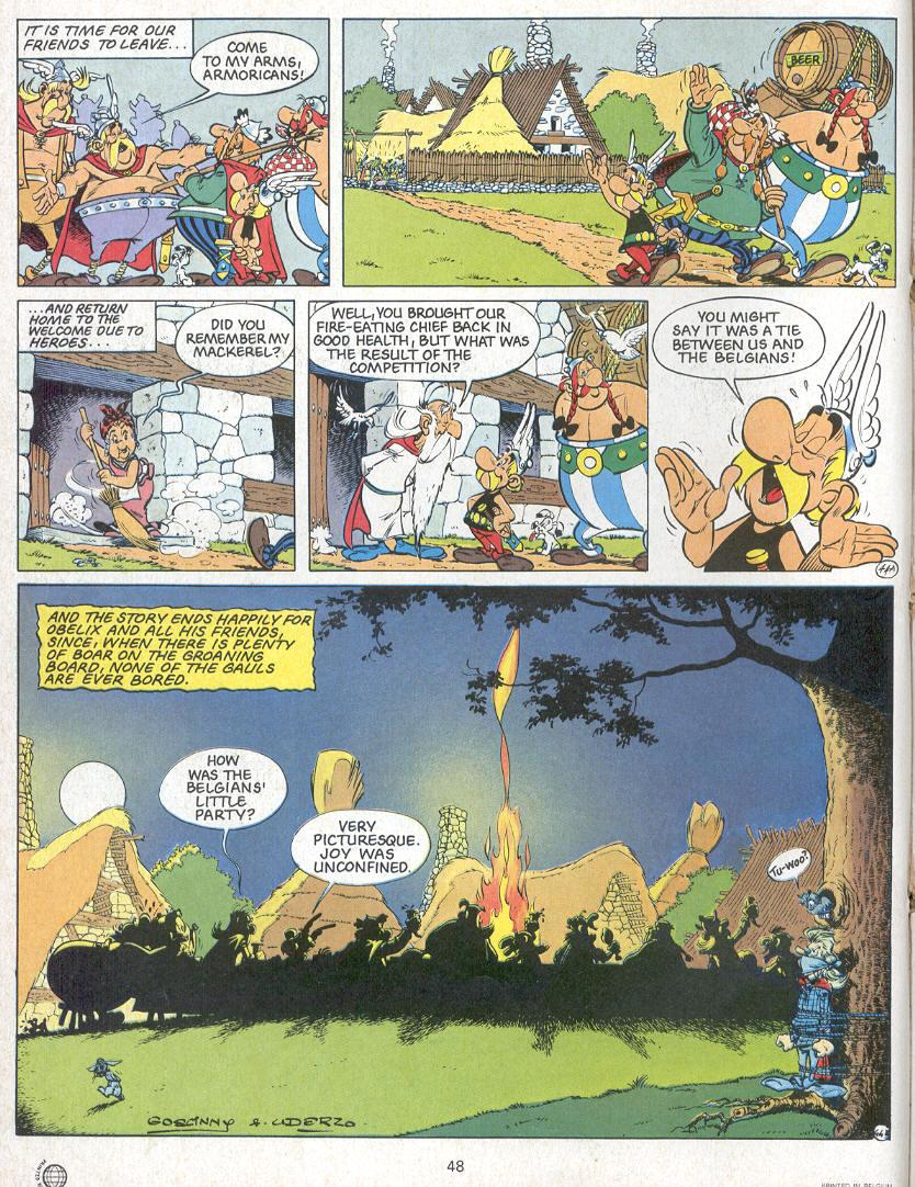 Read online Asterix comic -  Issue #24 - 45