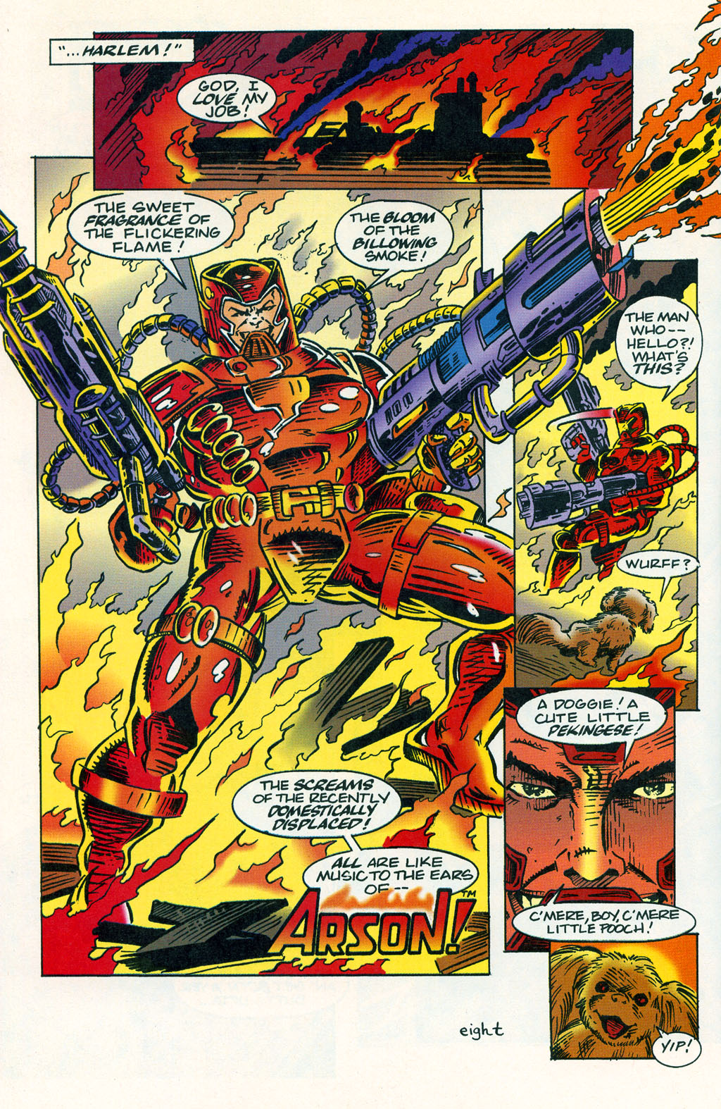 Read online ShadowHawk comic -  Issue #1 - 12