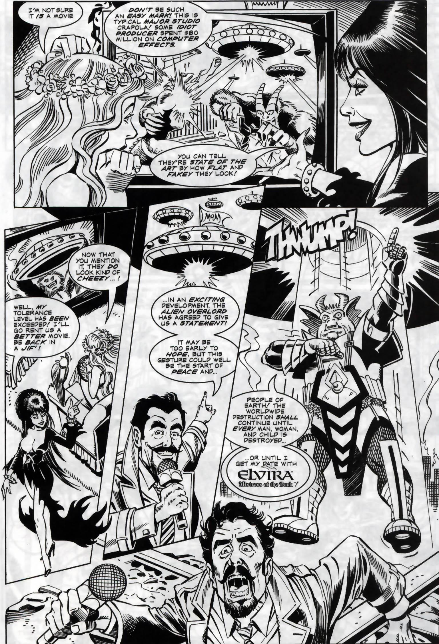 Read online Elvira, Mistress of the Dark comic -  Issue #118 - 21