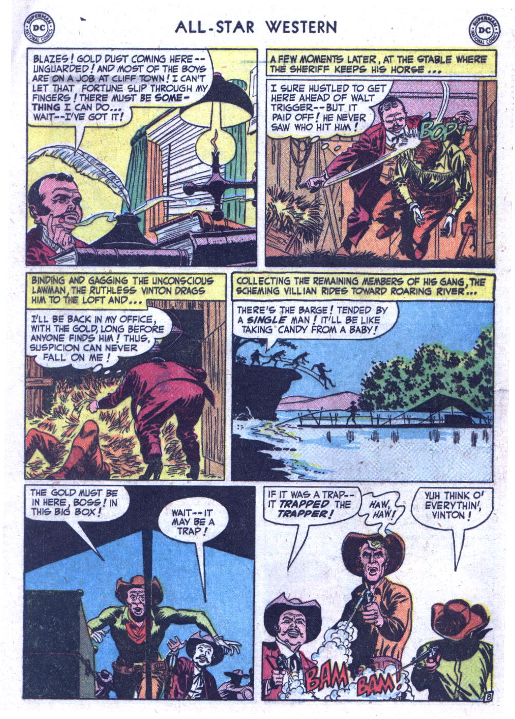Read online All-Star Western (1951) comic -  Issue #59 - 10