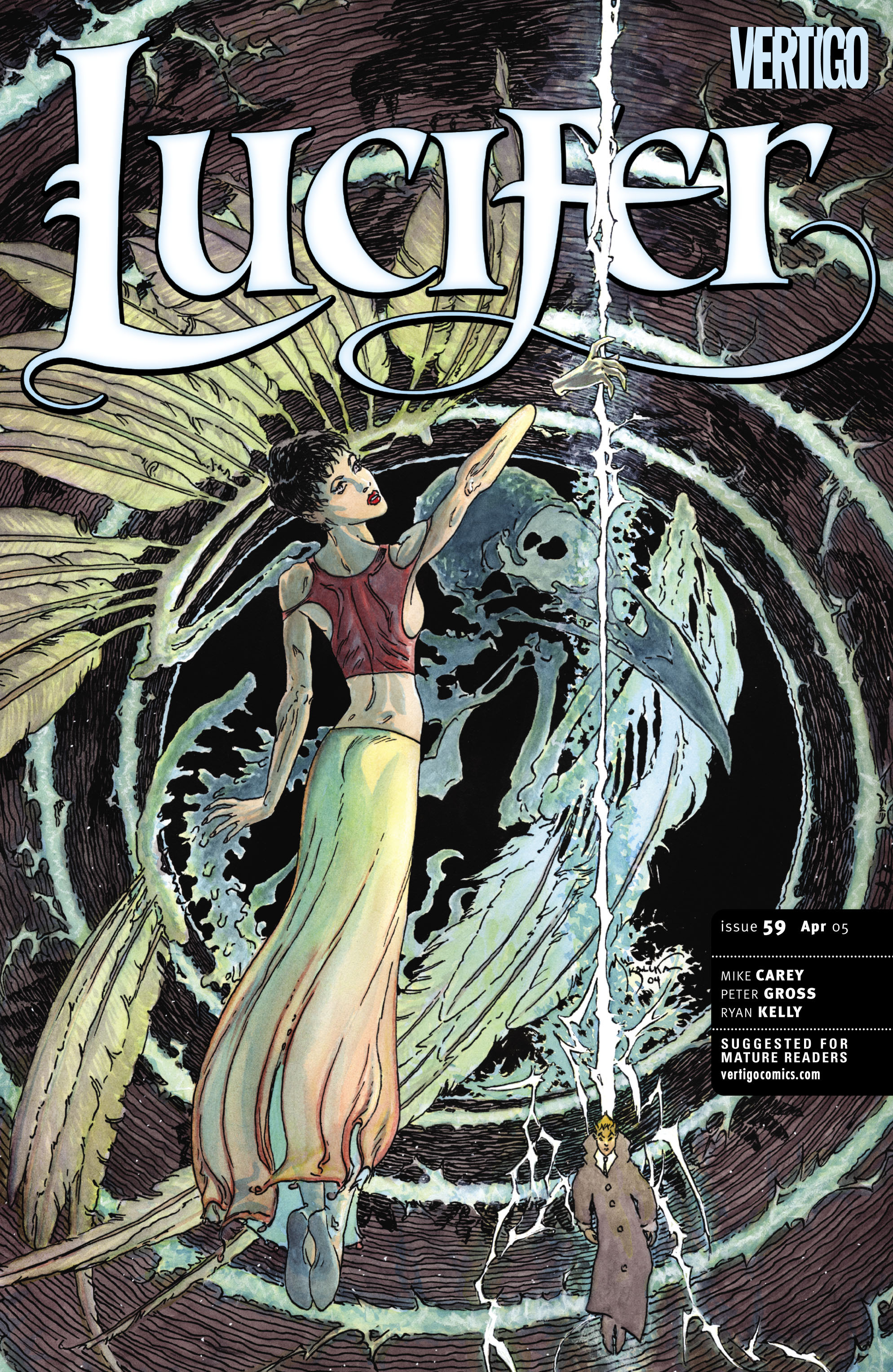 Lucifer (2000) issue 59 - Page 1