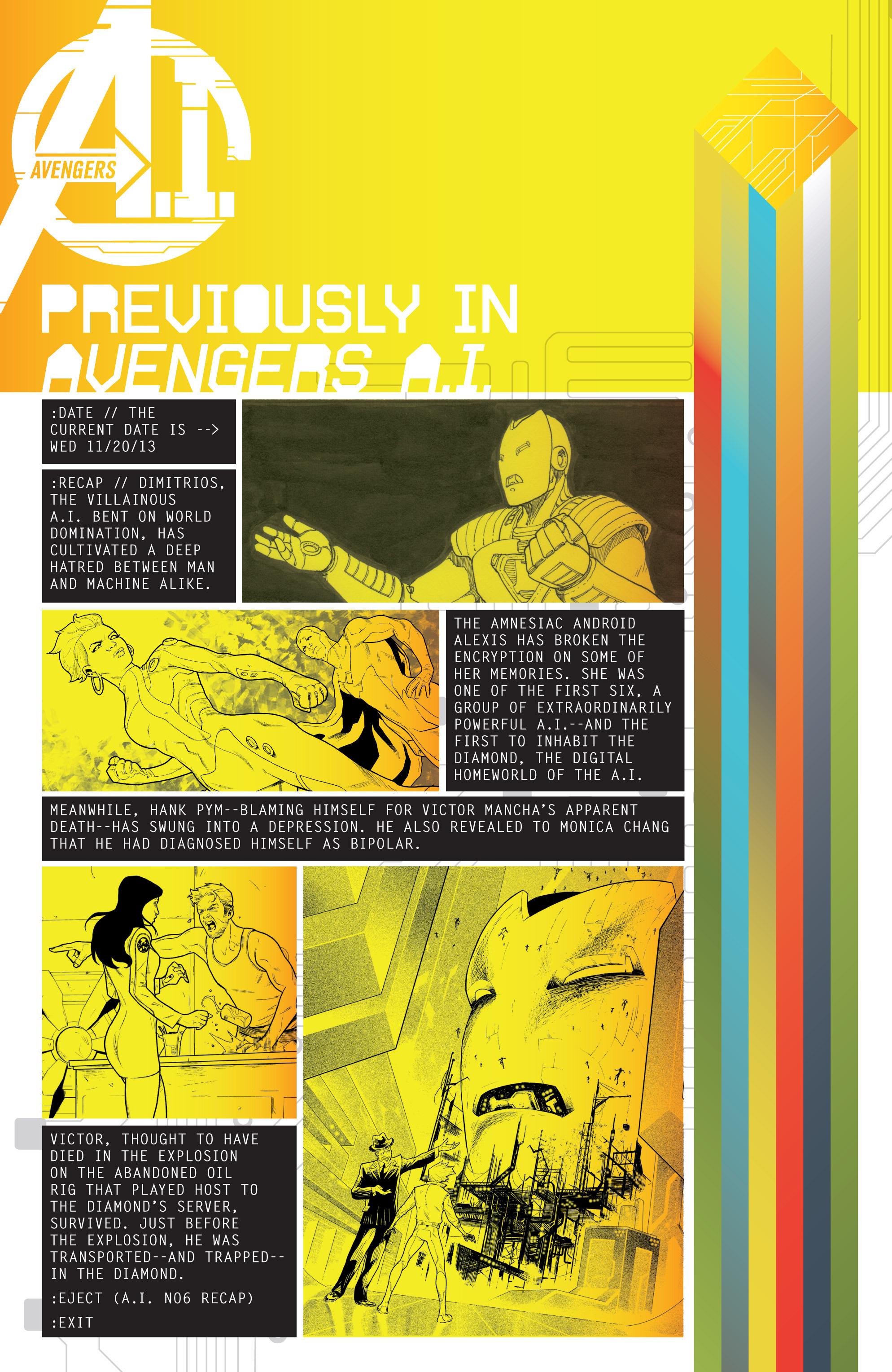 Avengers A.I. 6 Page 2