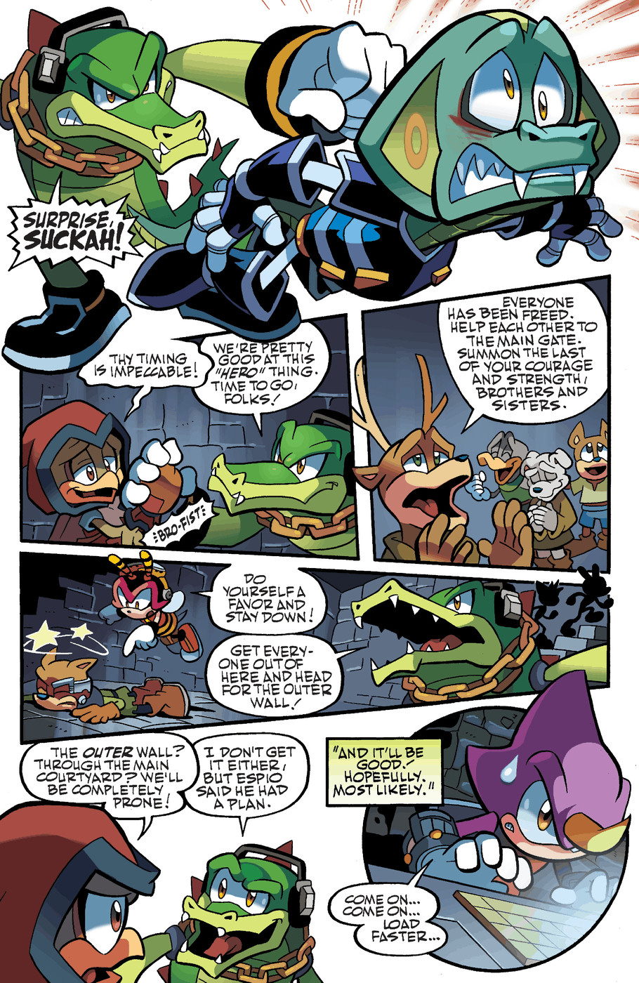 Read online Sonic Universe comic -  Issue #47 - 15